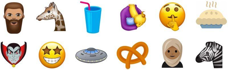 Unicode 10 Emoji
