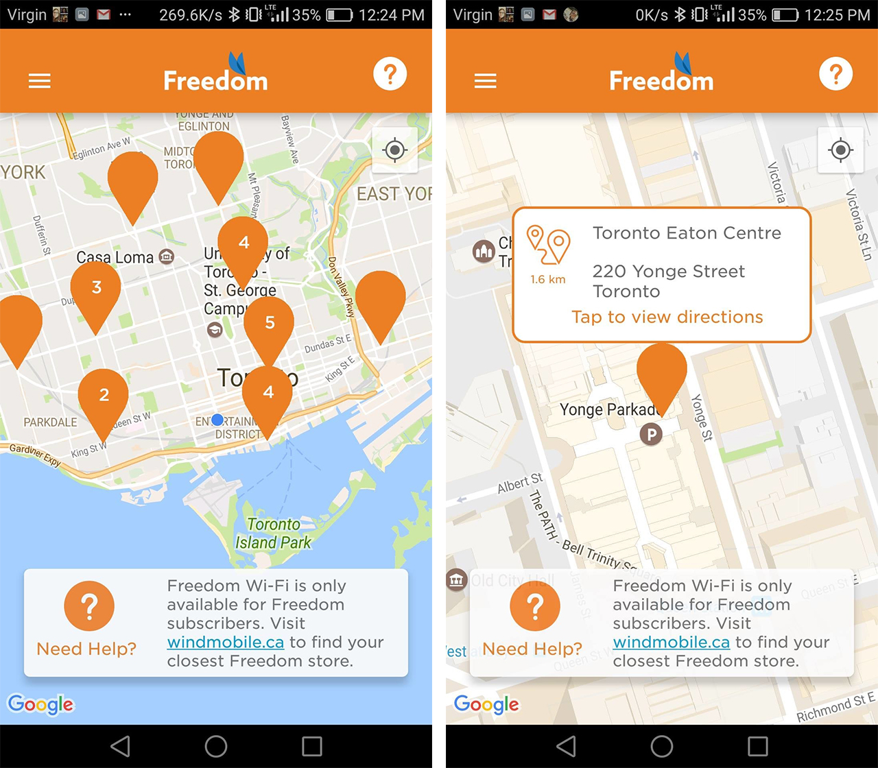 New Freedom Mobile Wi-Fi app helps customers find free hotspots