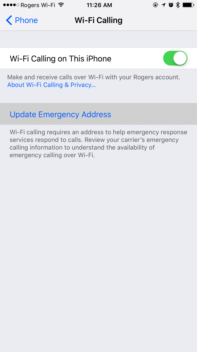 wifi phone calls iphone how to enable wi fi calling on your iphone mobilesyrup 16508