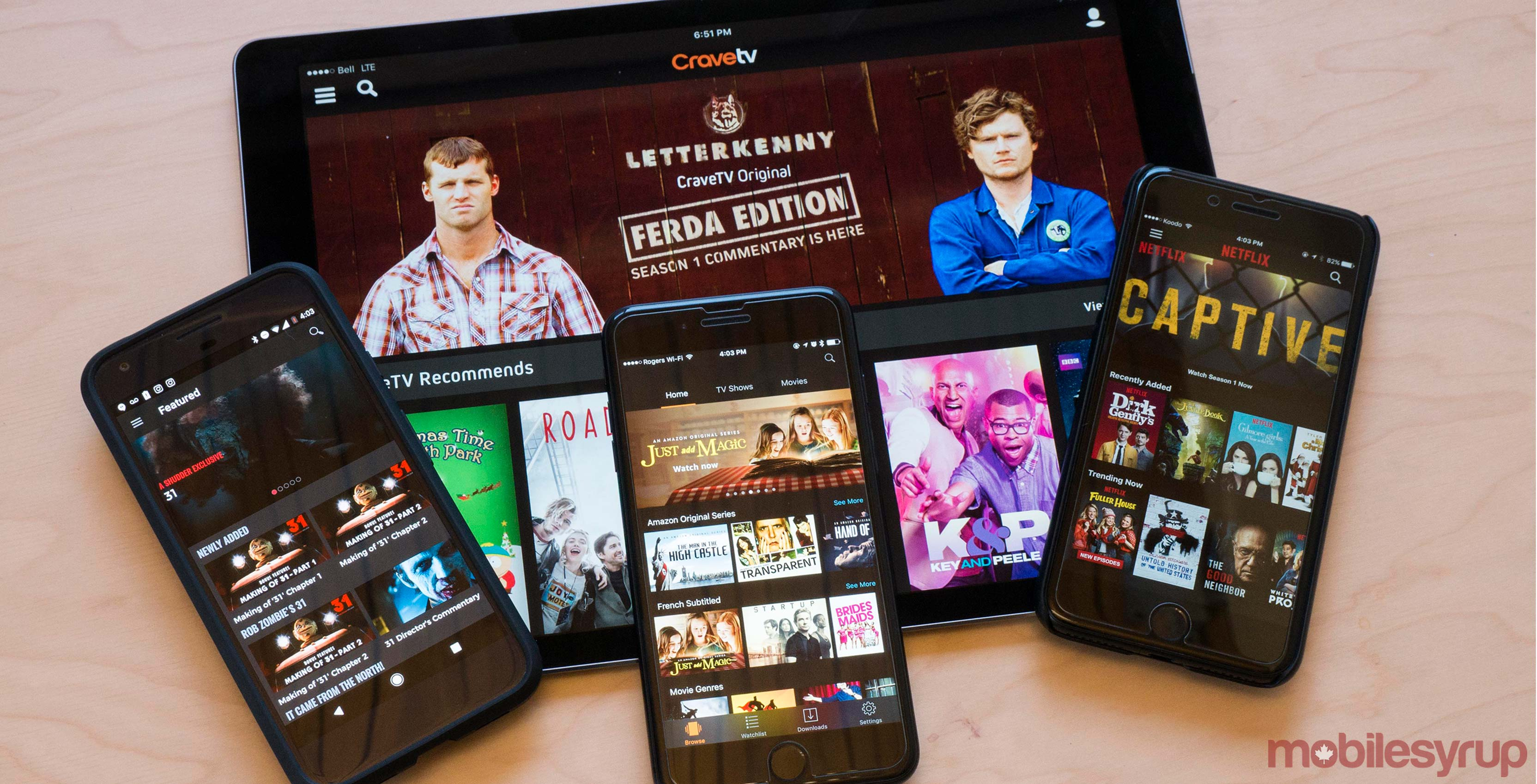 MobileSyrup's guide to streaming video services in Canada