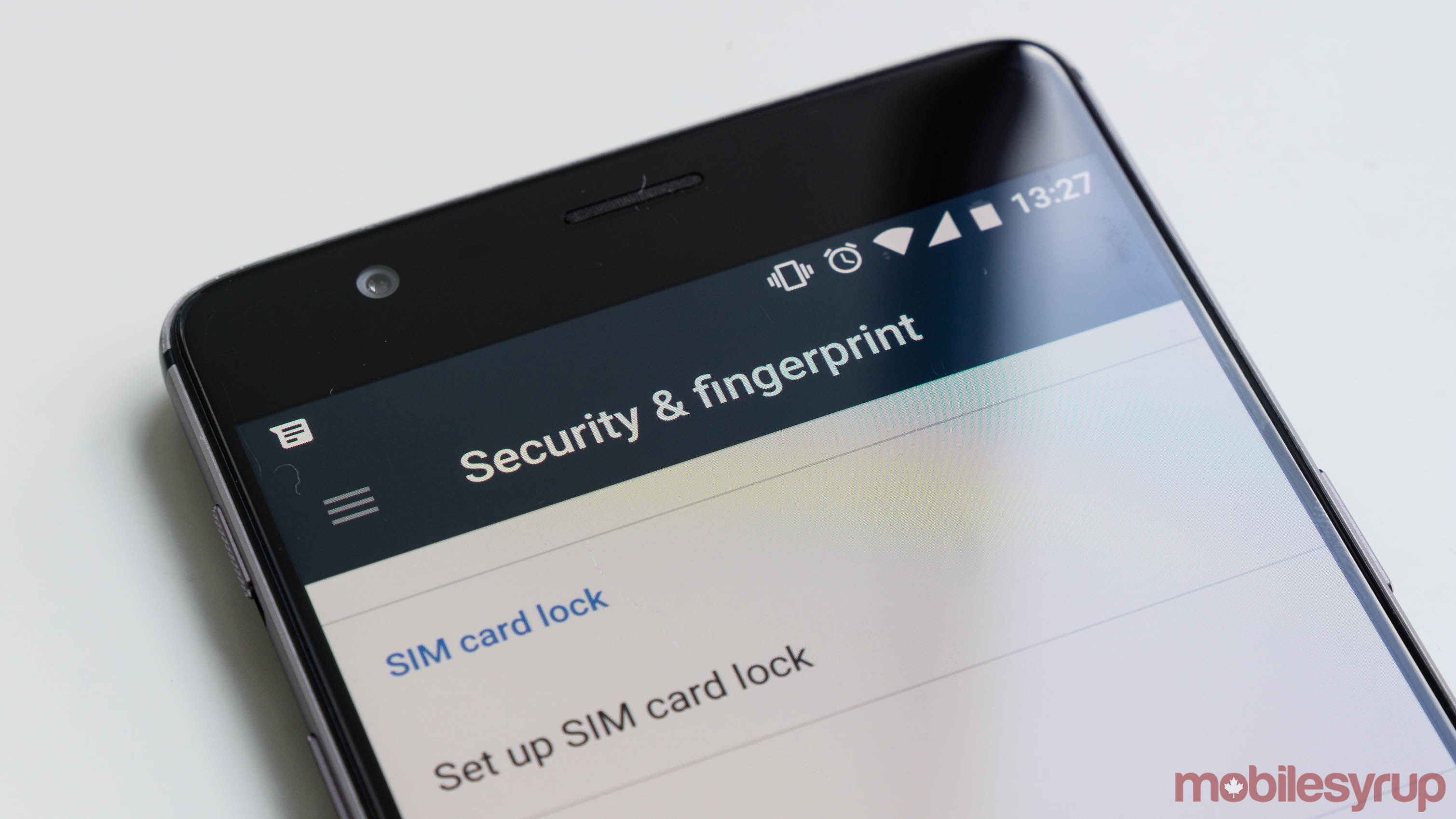 Android security on phone