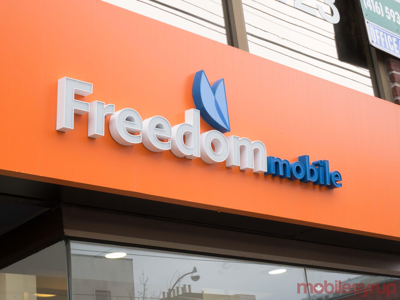Freedom Mobile store logo