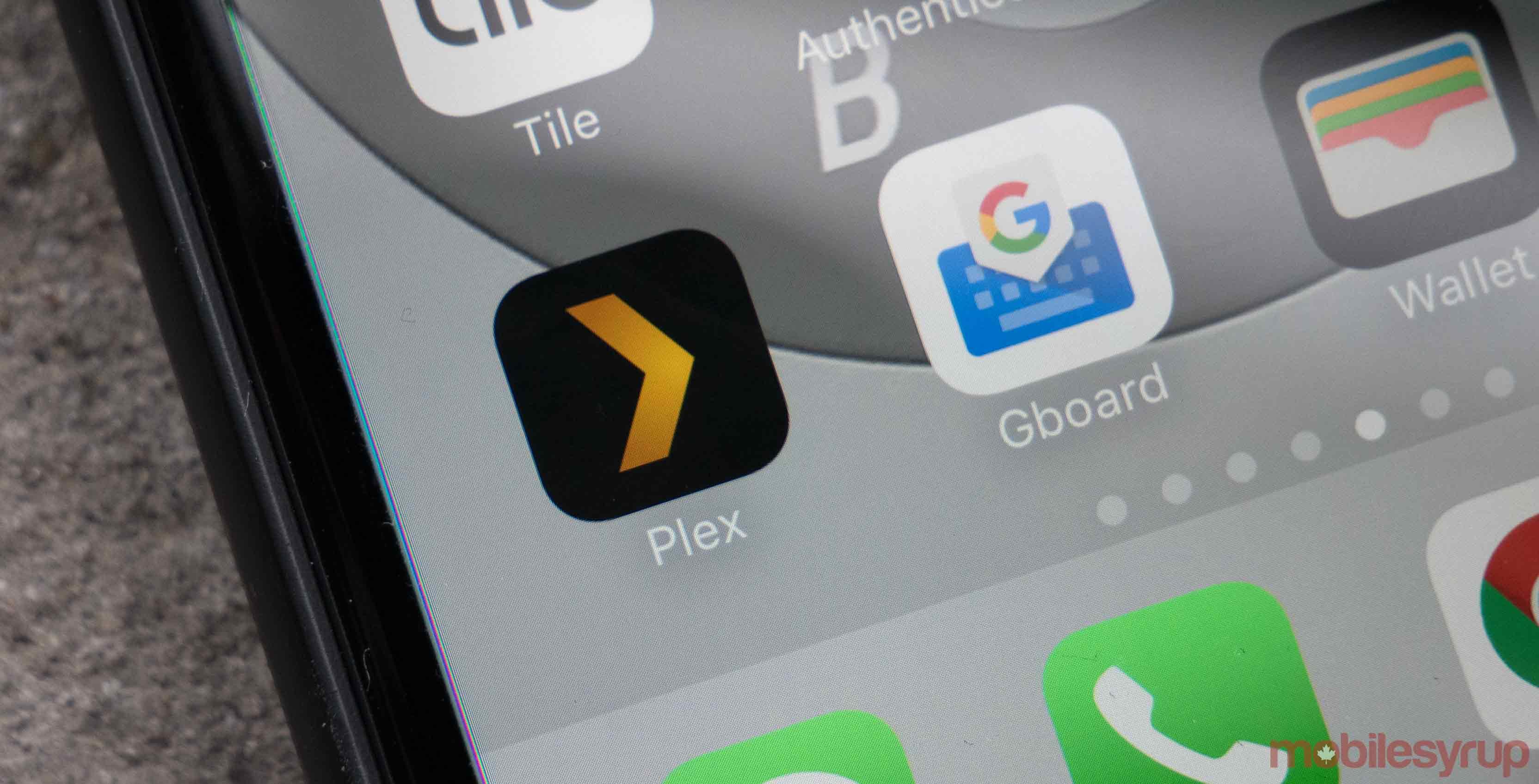 Plex App on iOS