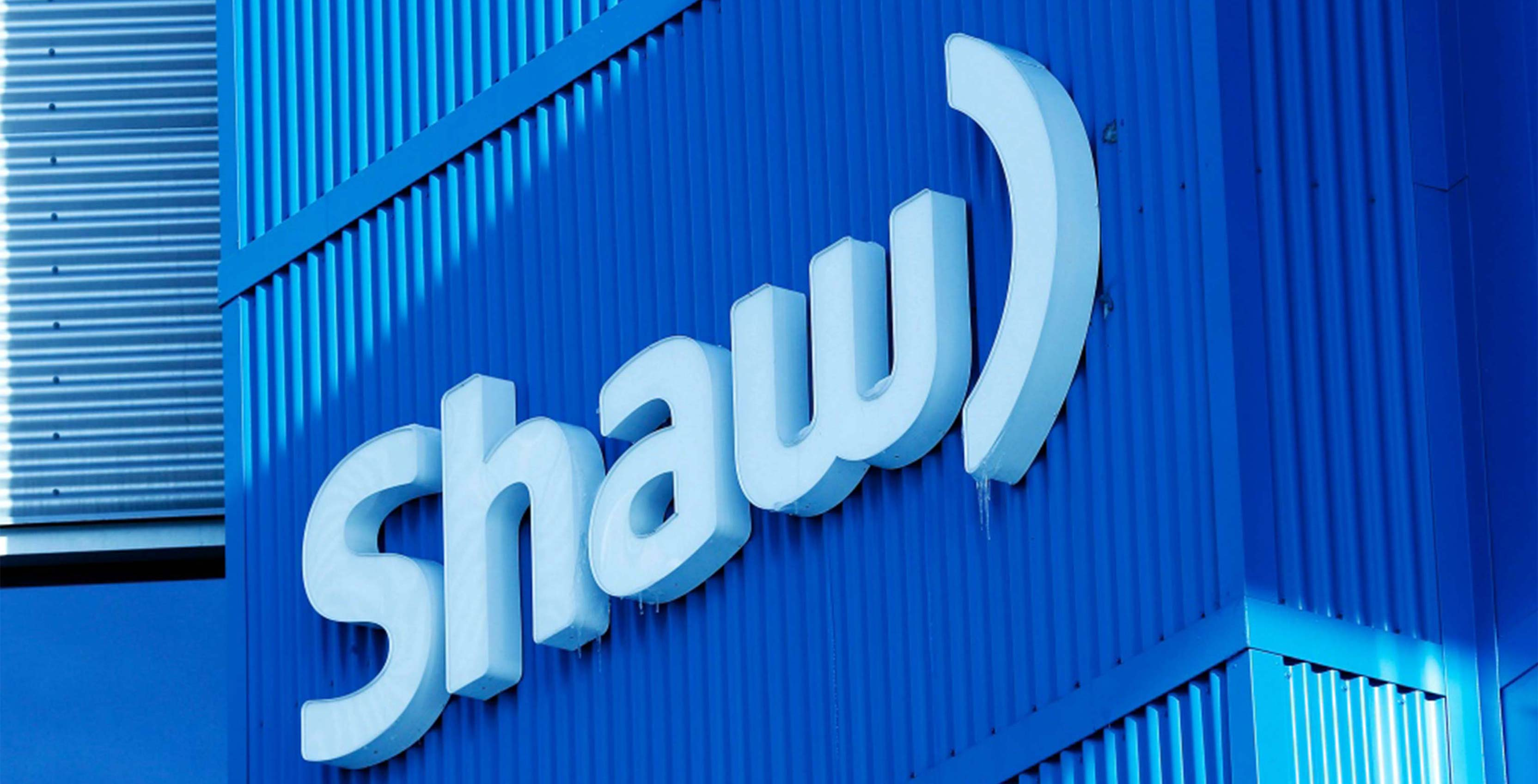 An image showing the Shaw Communications logo