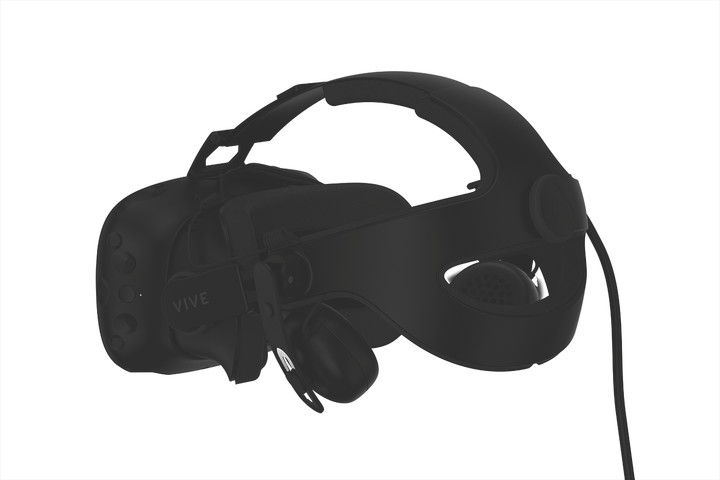 HTC reveals an upgraded strap and new tracking device for the Vive
