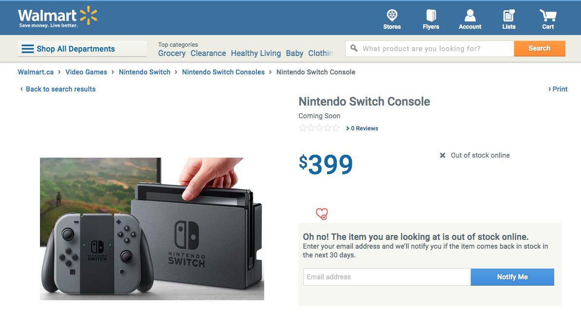 Image Result For Nintendo Switch Walmart Com