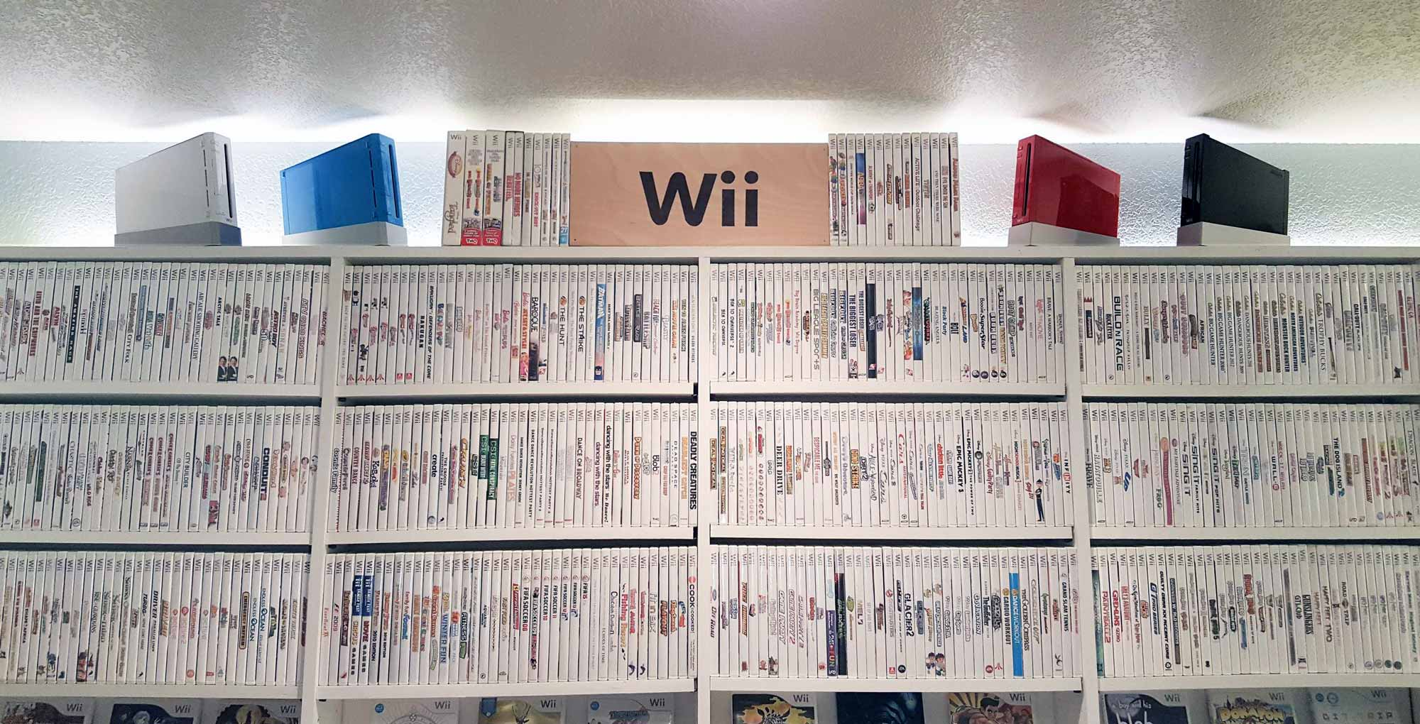 This Complete Nintendo Wii Game Collection Is Insane