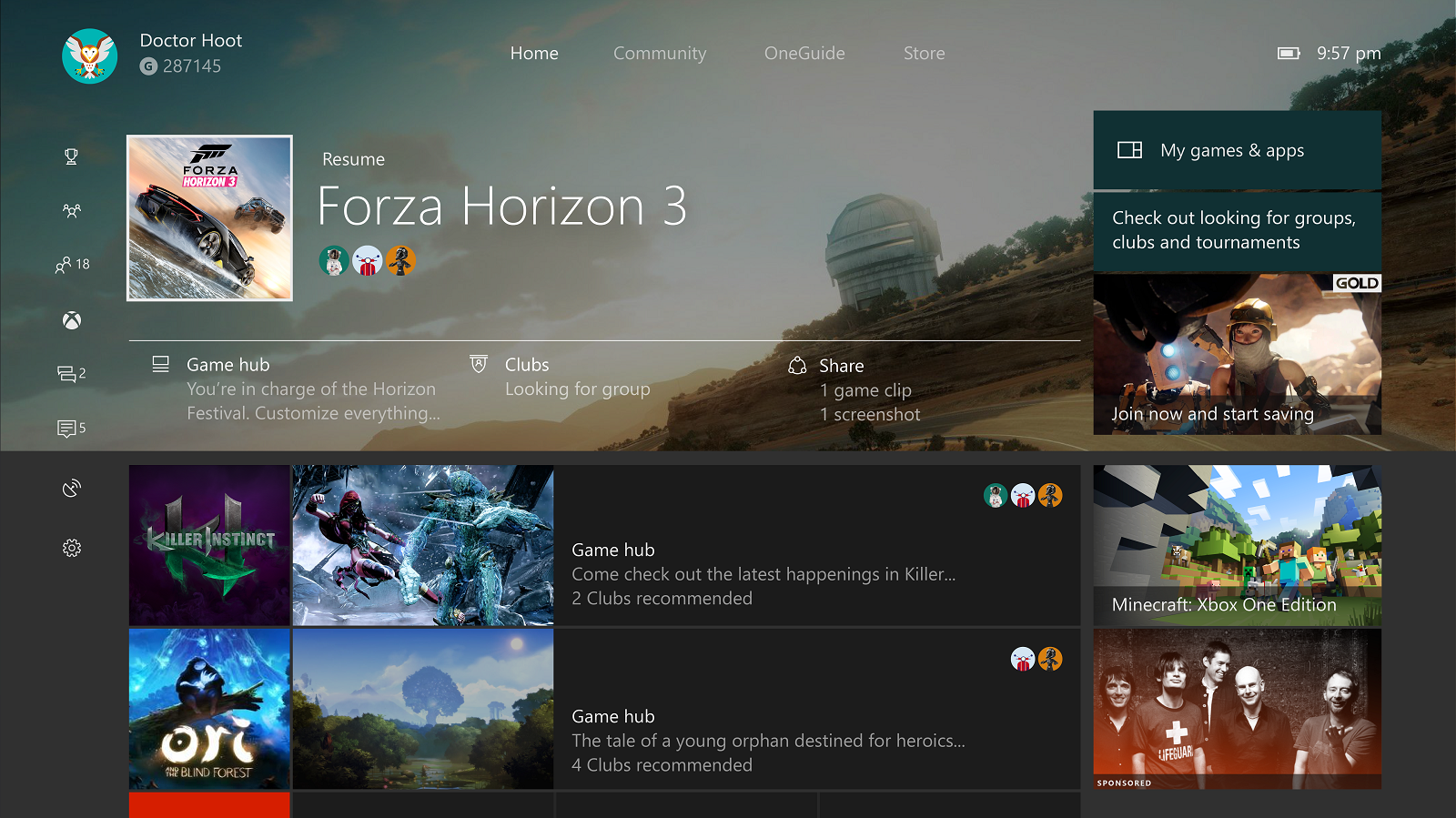 Microsoft removes 'Snap' feature from Xbox One operating system