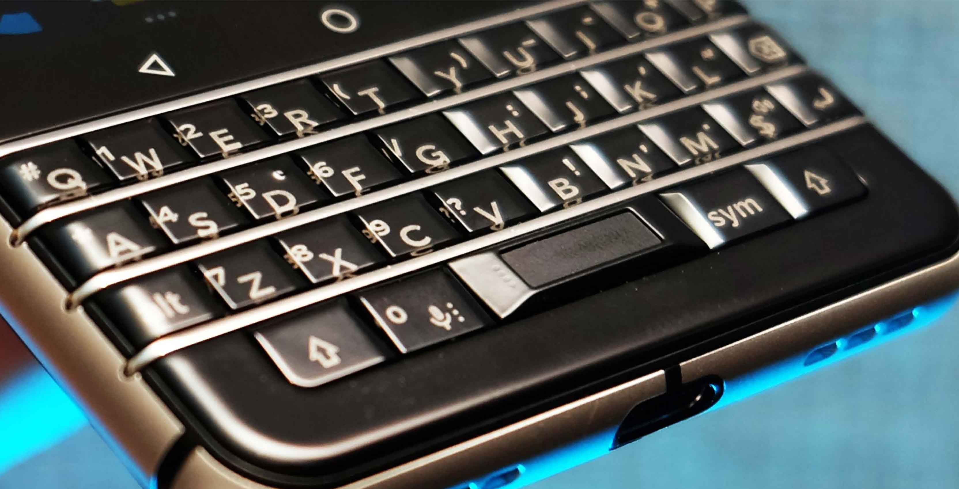 BlackBerry Mercury keyboard
