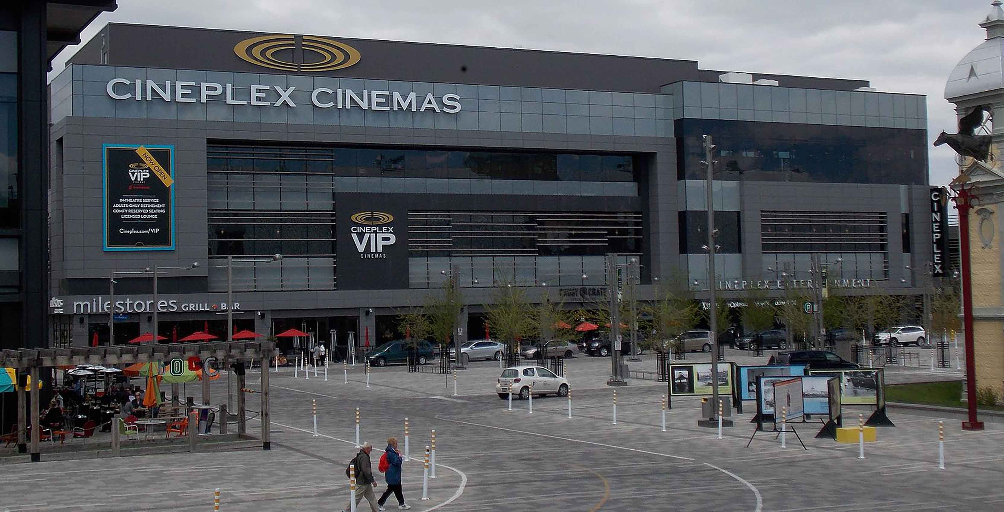 Cineplex Cinemas Lansdowne VIP - Cineplex Entertainment urges users to change passwords