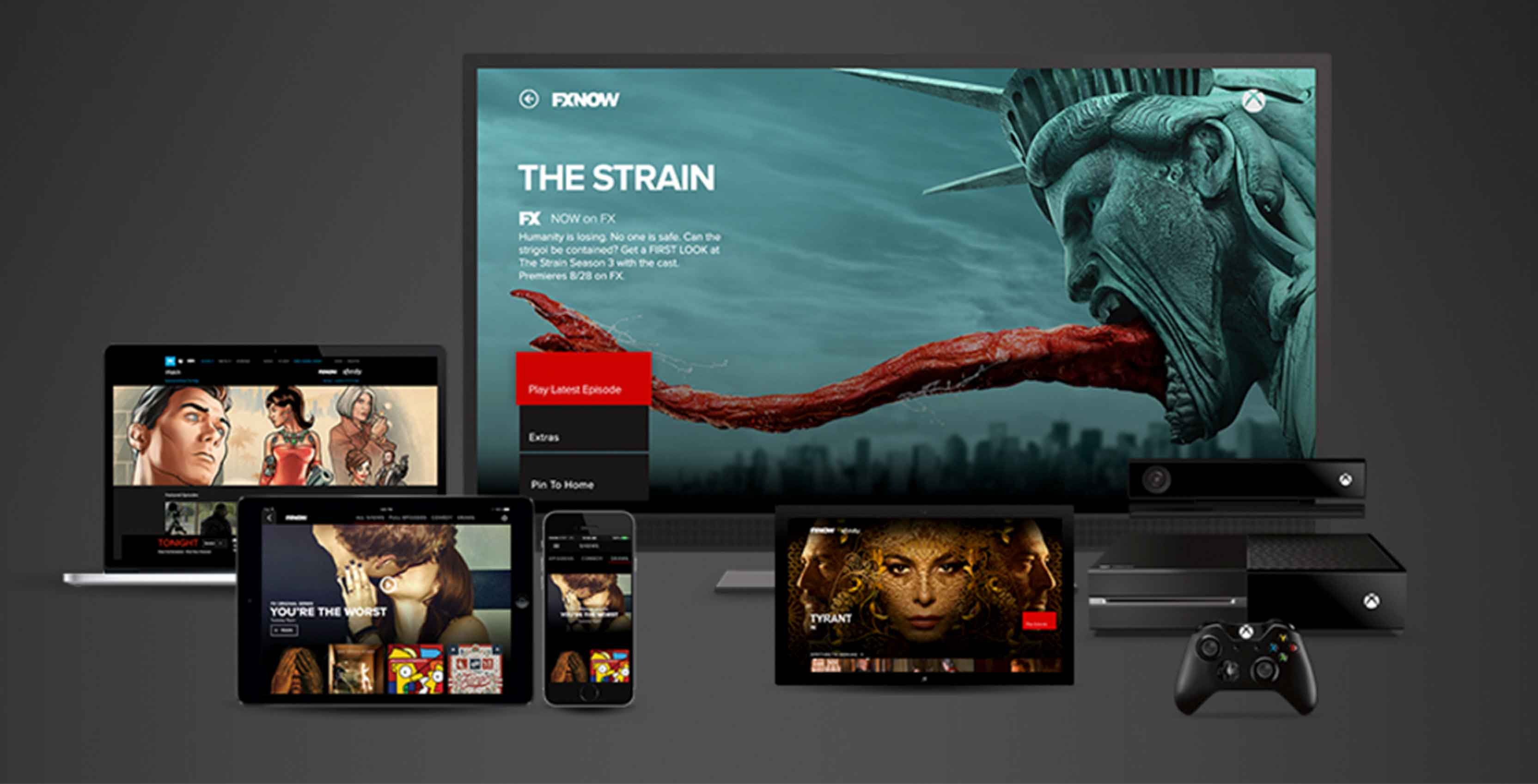 FXNow app supported devices with Apple TV