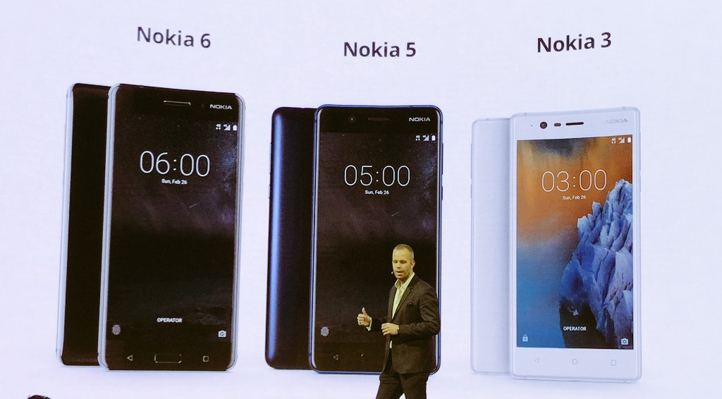 Nokia reveals the Android-powered Nokia 5, Nokia 3 and ...