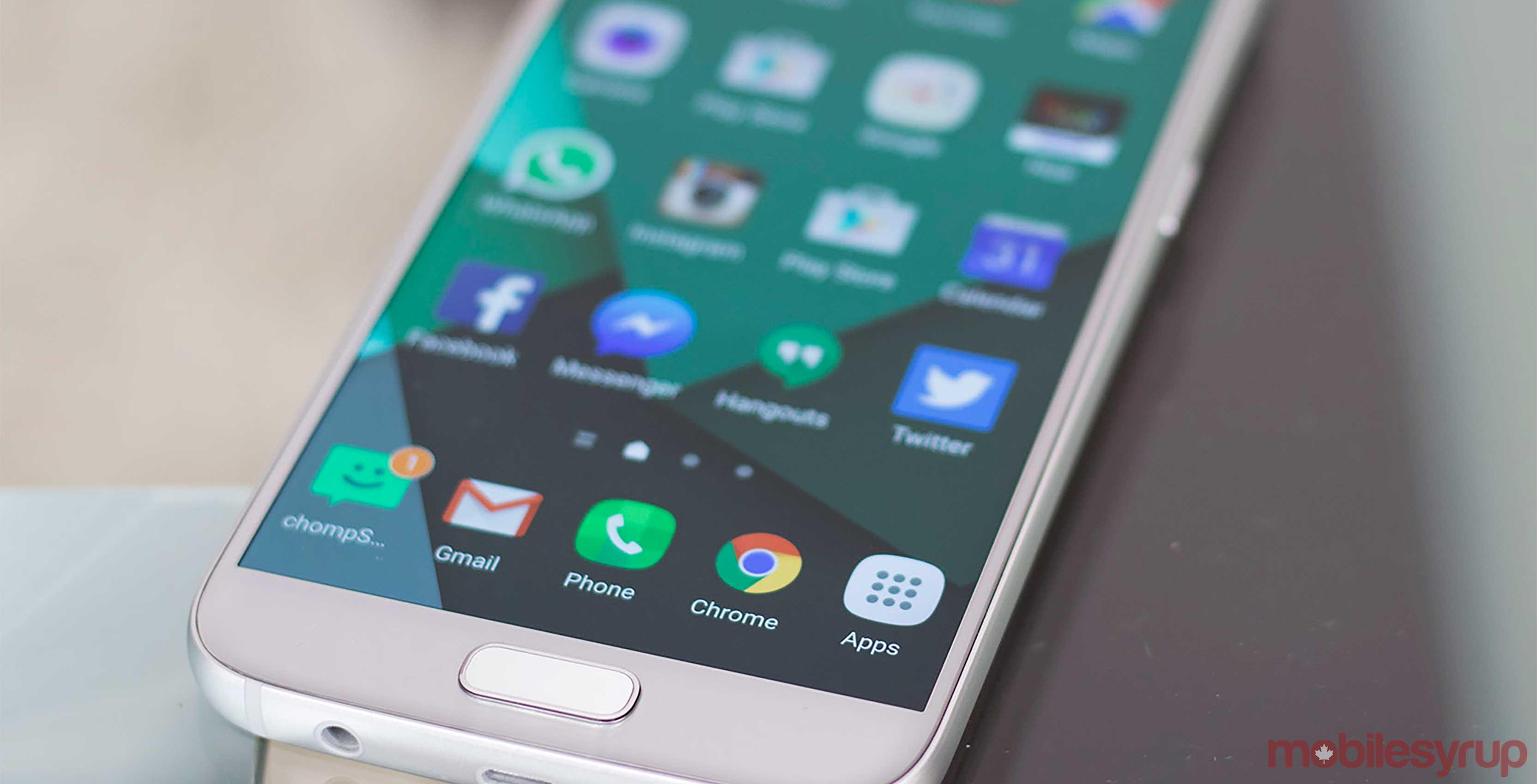 Samsung Galaxy S7 smartphone - Galaxy S8 Bixby