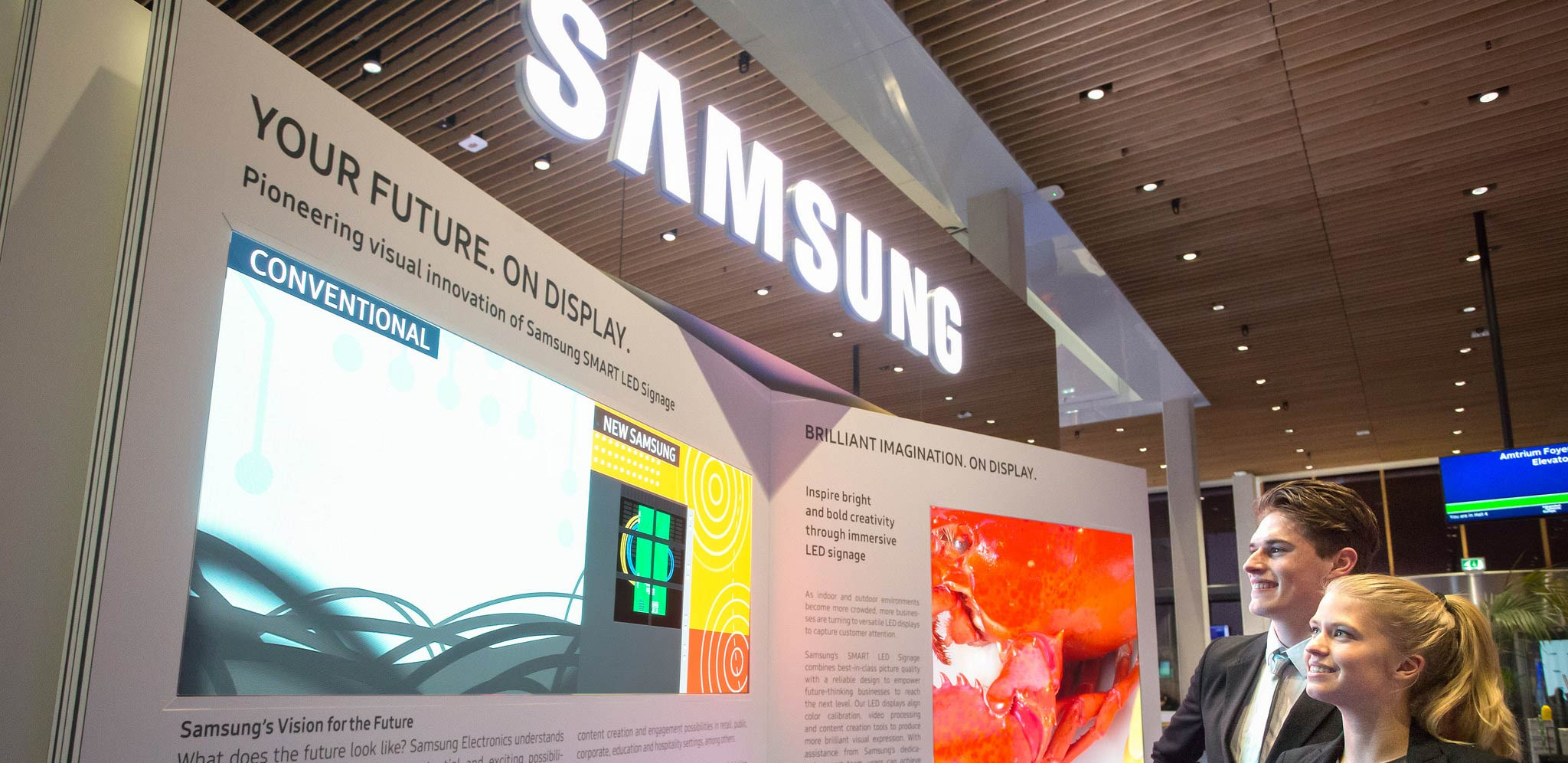 Image of Samsung store