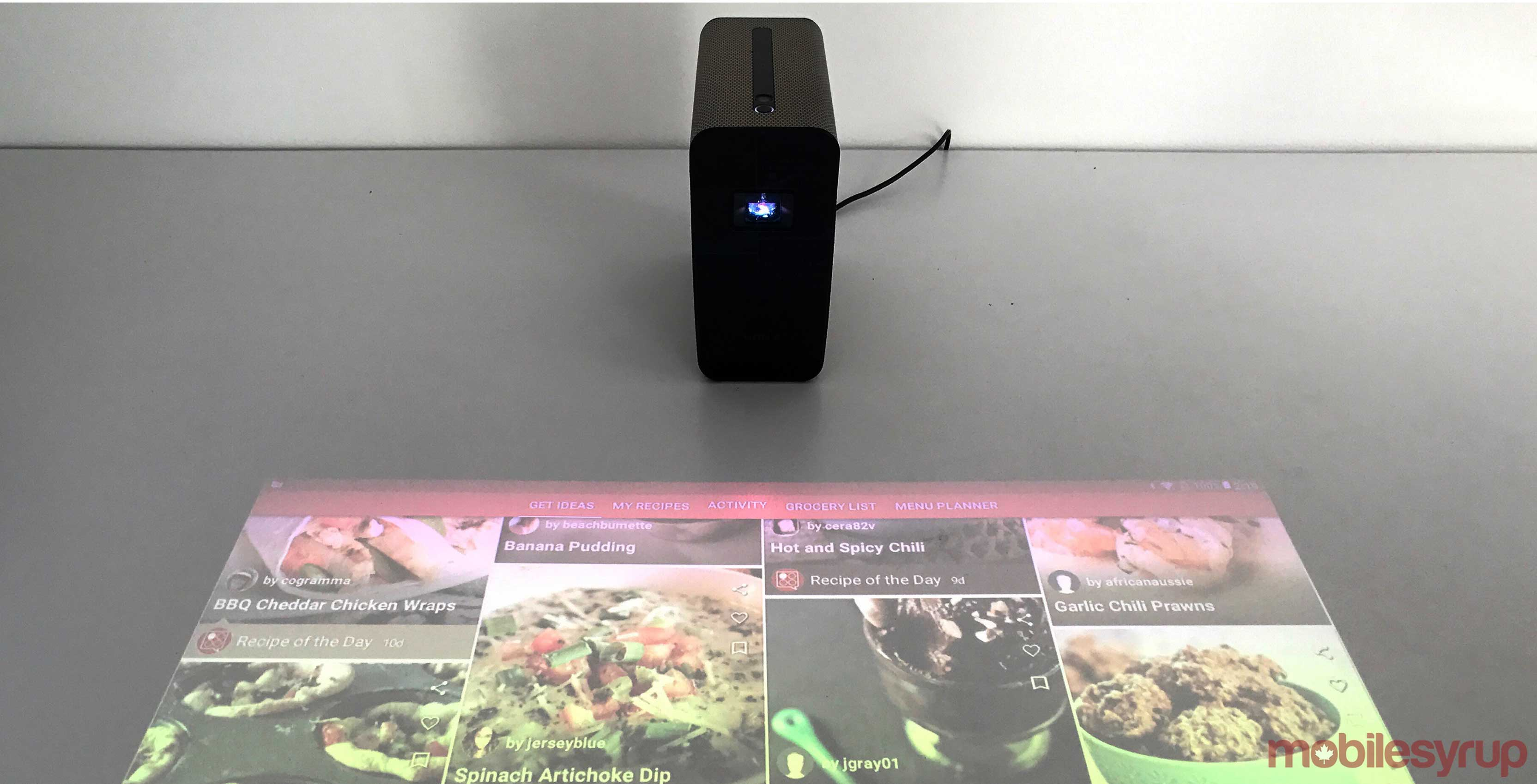 Xperia Touch Hands on Sonys Android based Projector