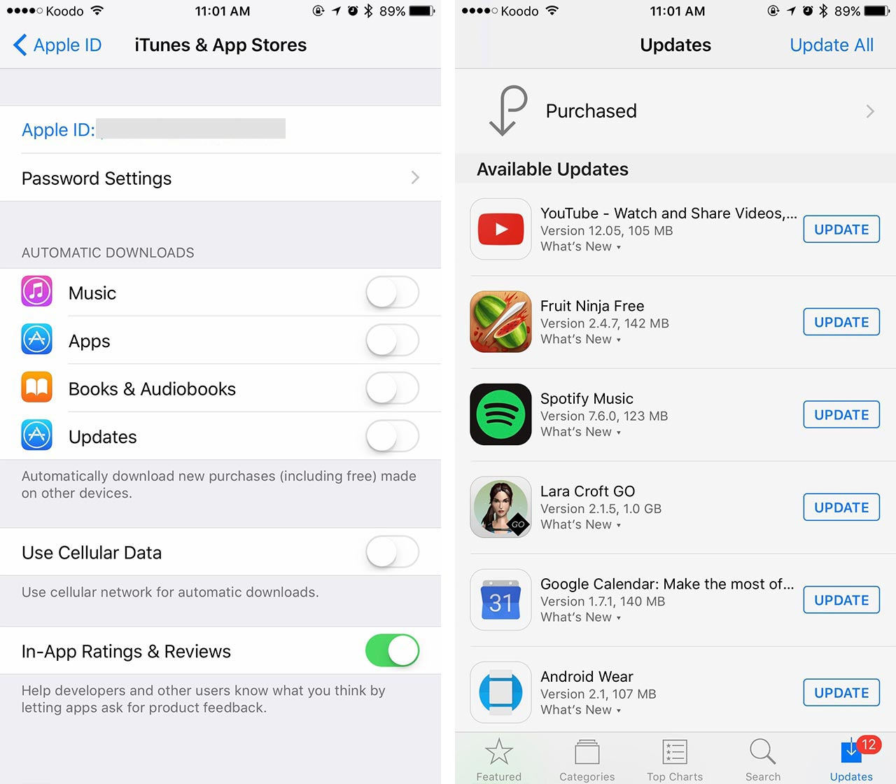 How to avoid bill shock and save data on iOS