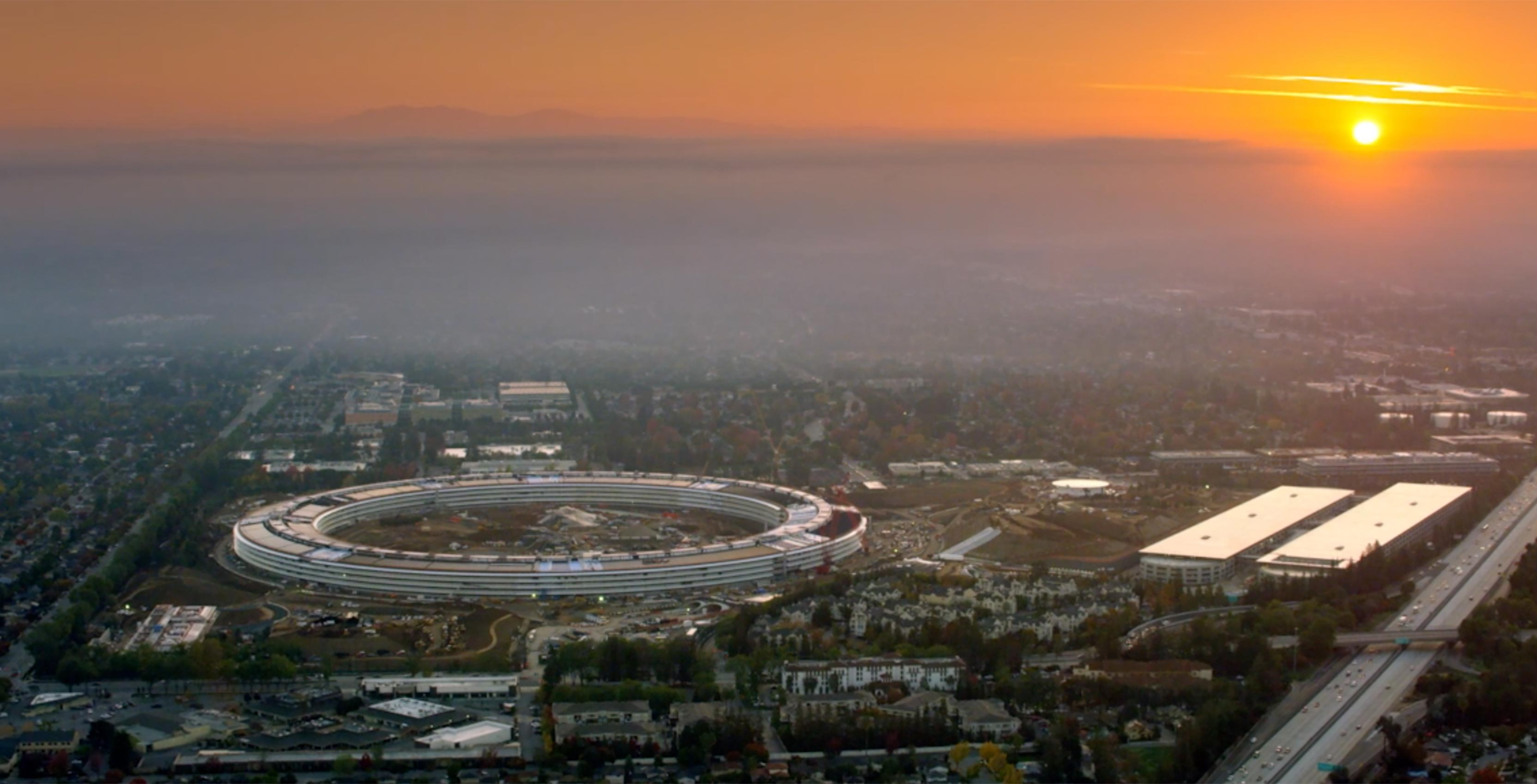 Apple Park, the tech giant's futuristic spaceship-like campus, is set to open in April