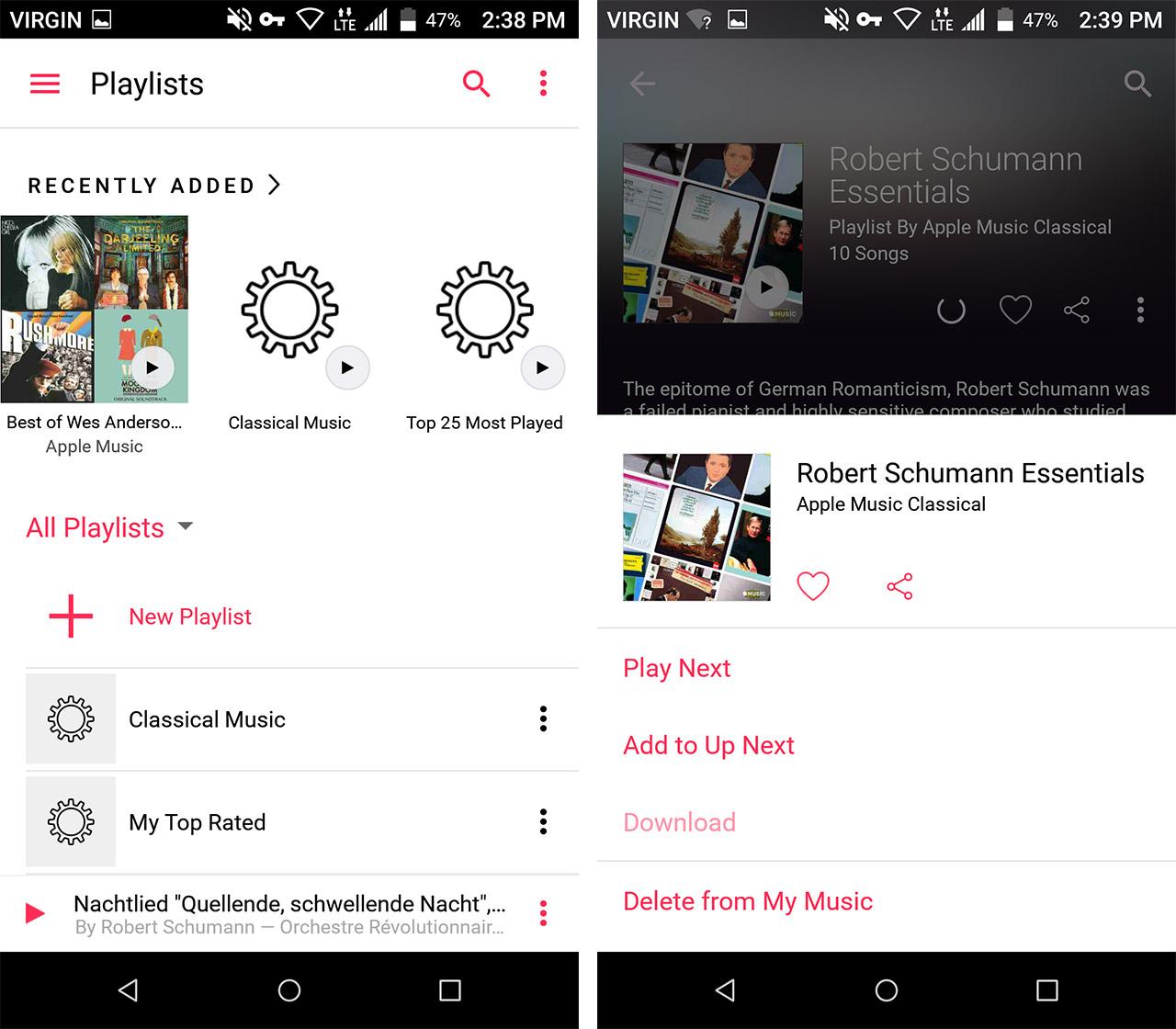 apple music screen shots - save data