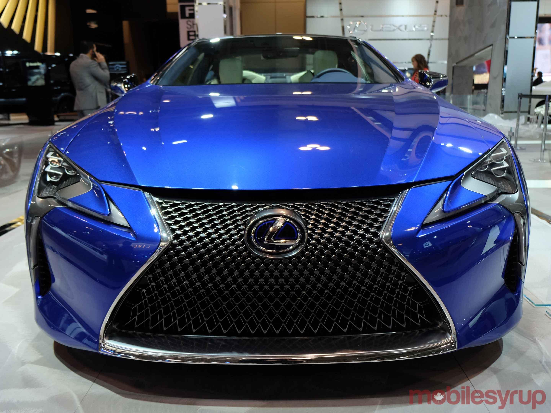 Lexus at Canadian AutoShow