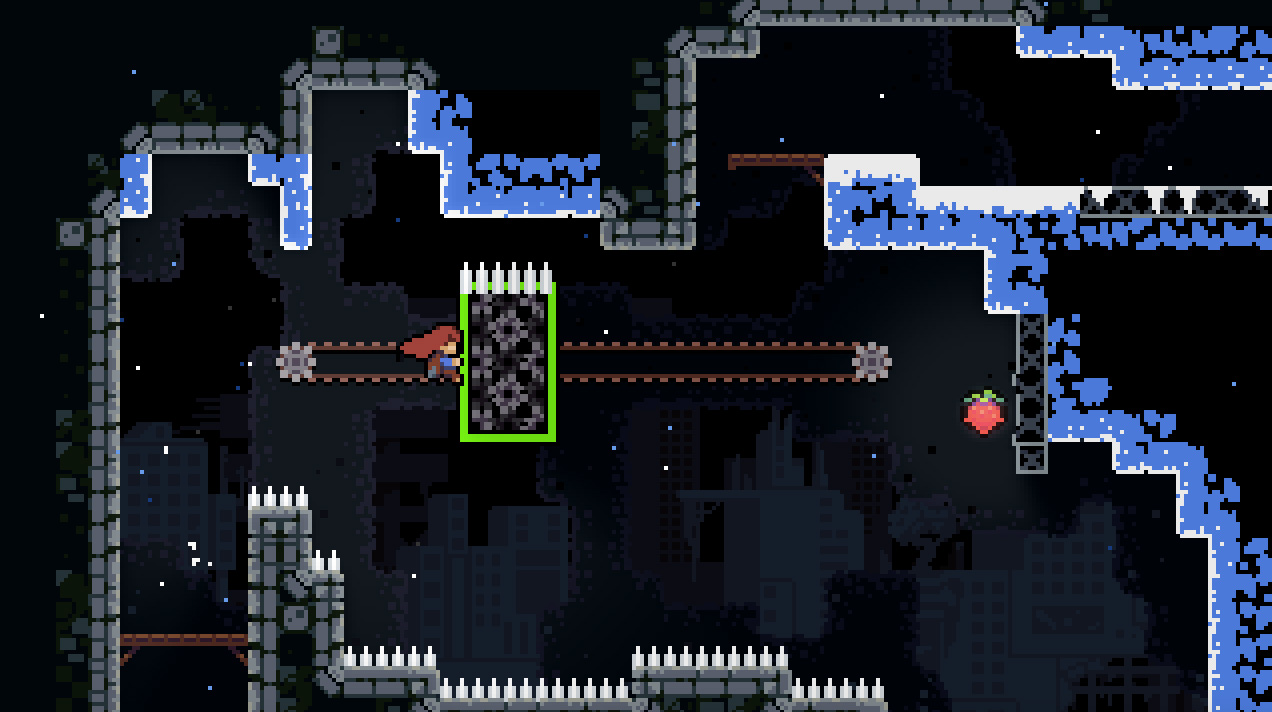 Screenshot of Celeste for the Nintendo Switch