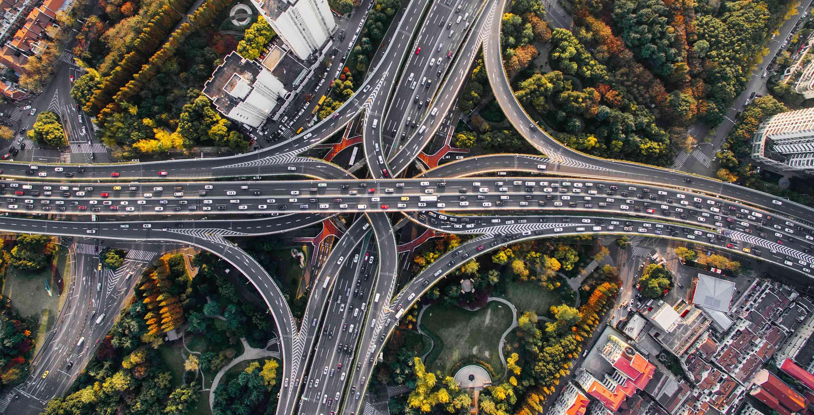 highway cars - qualcomm c-v2x