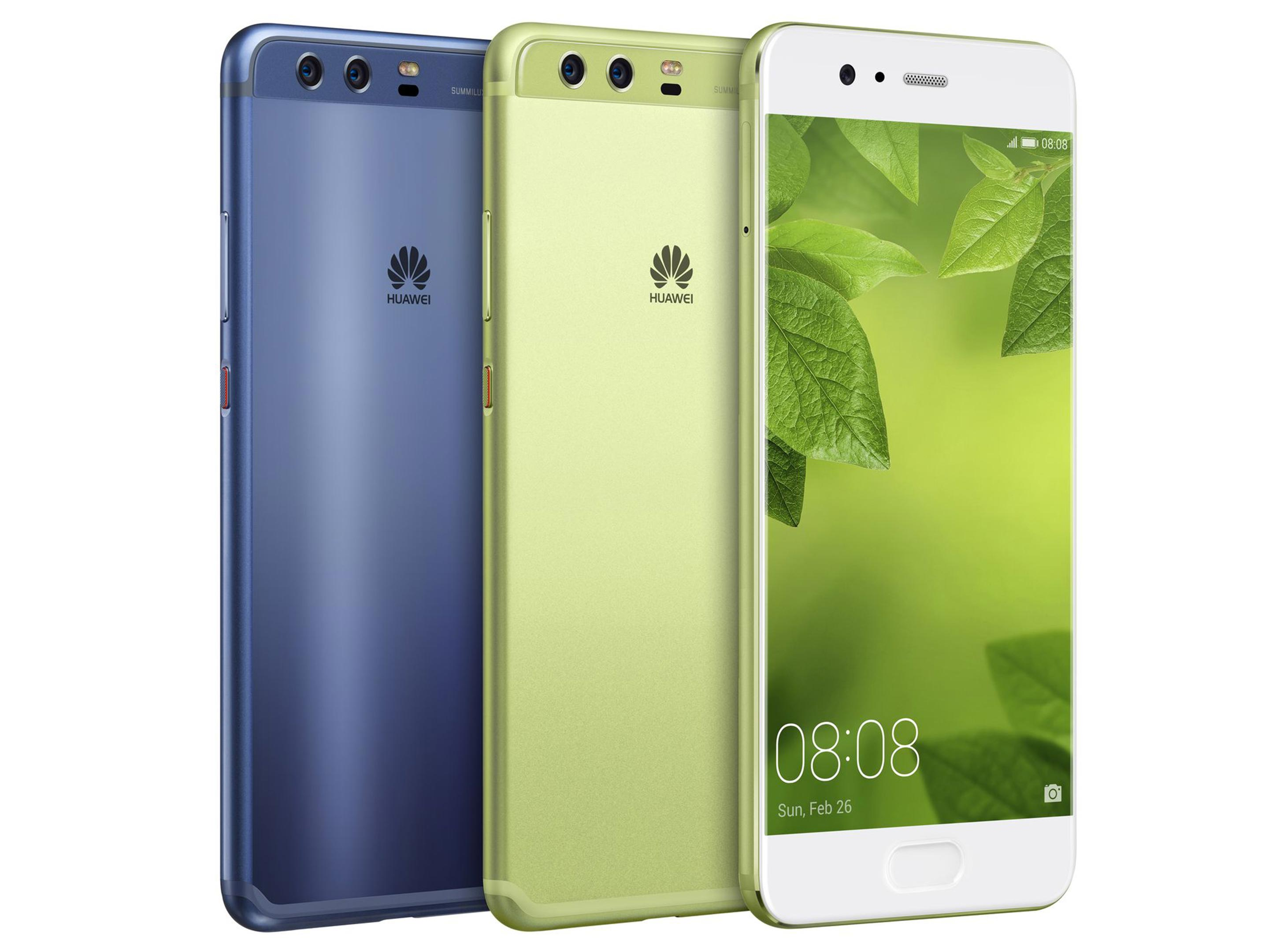 Huawei P10 Dazzling Blue and Greenery