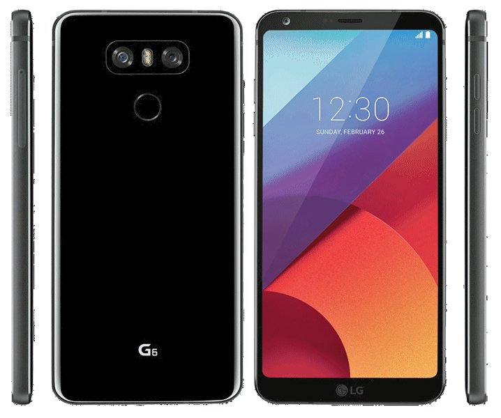 LG G6 press render