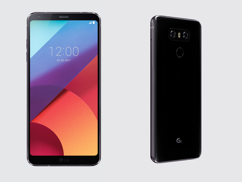 LG G6 high resolution render side view