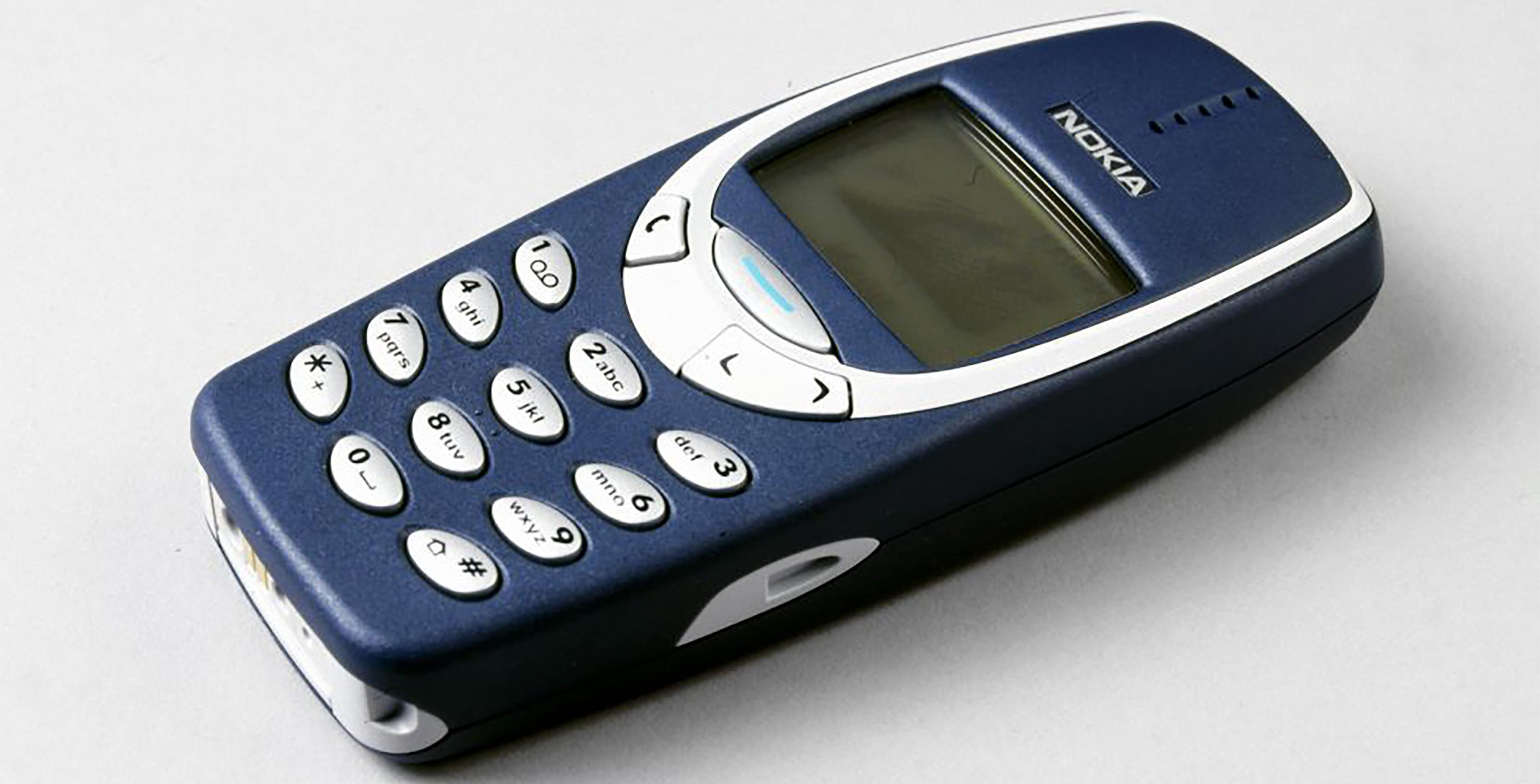 Nokia's 3310 brick phone