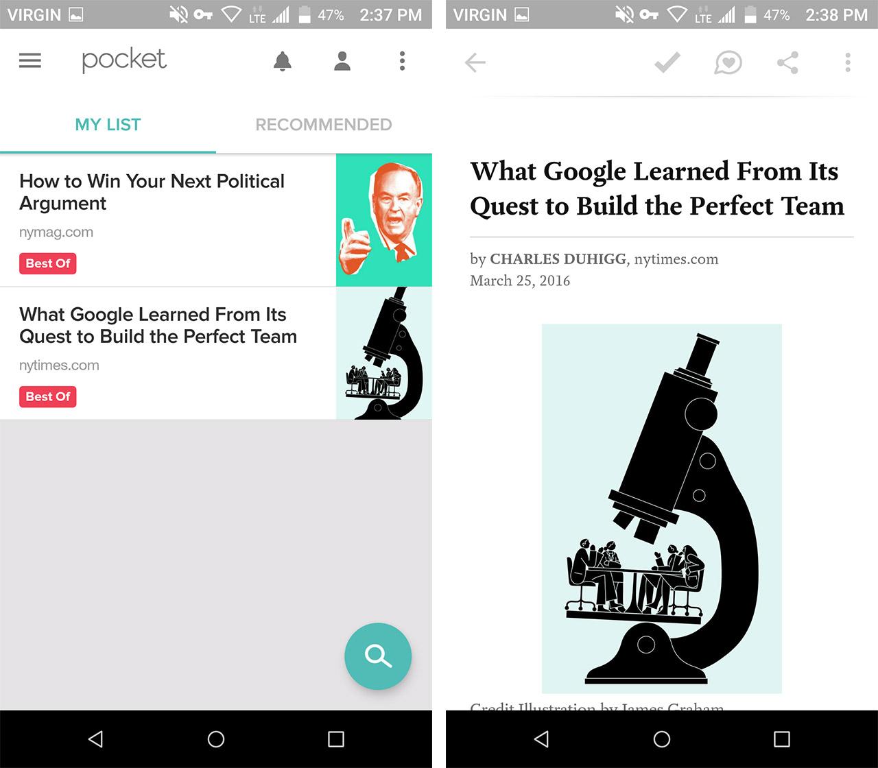 pocket screen shots - save data