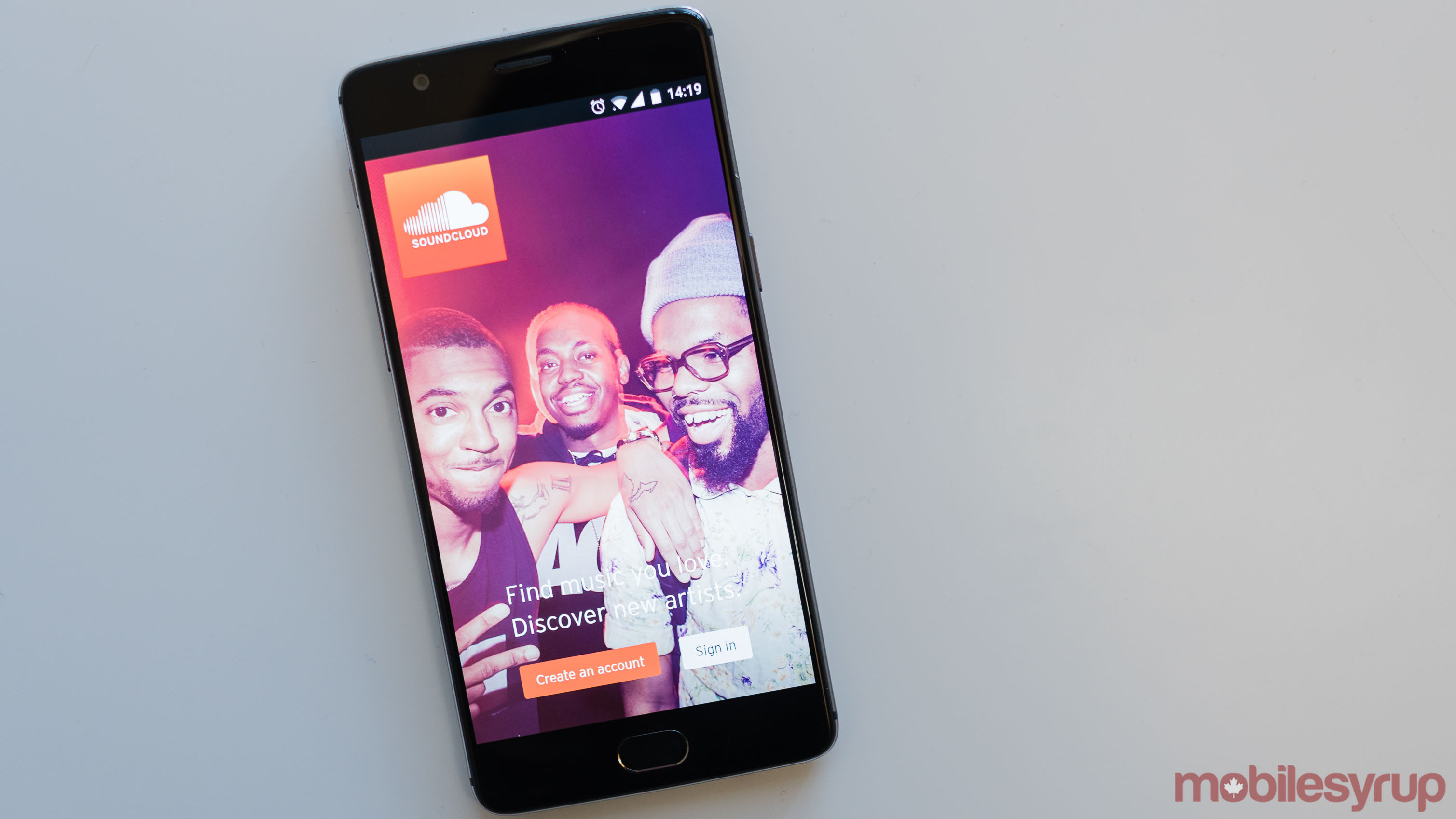 SoundCloud on Phone