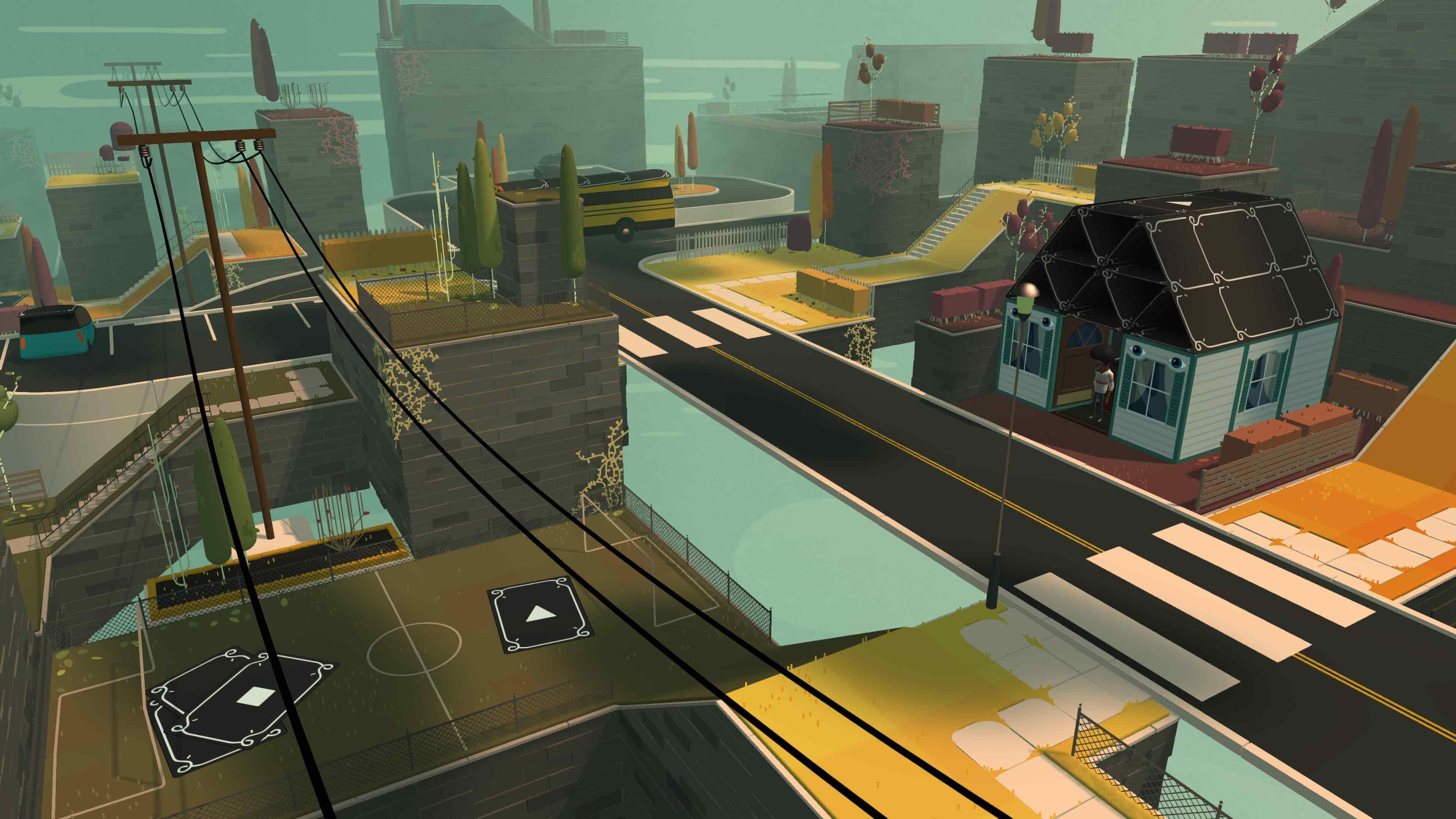 Screenshot of Where Cards Fall mobile game