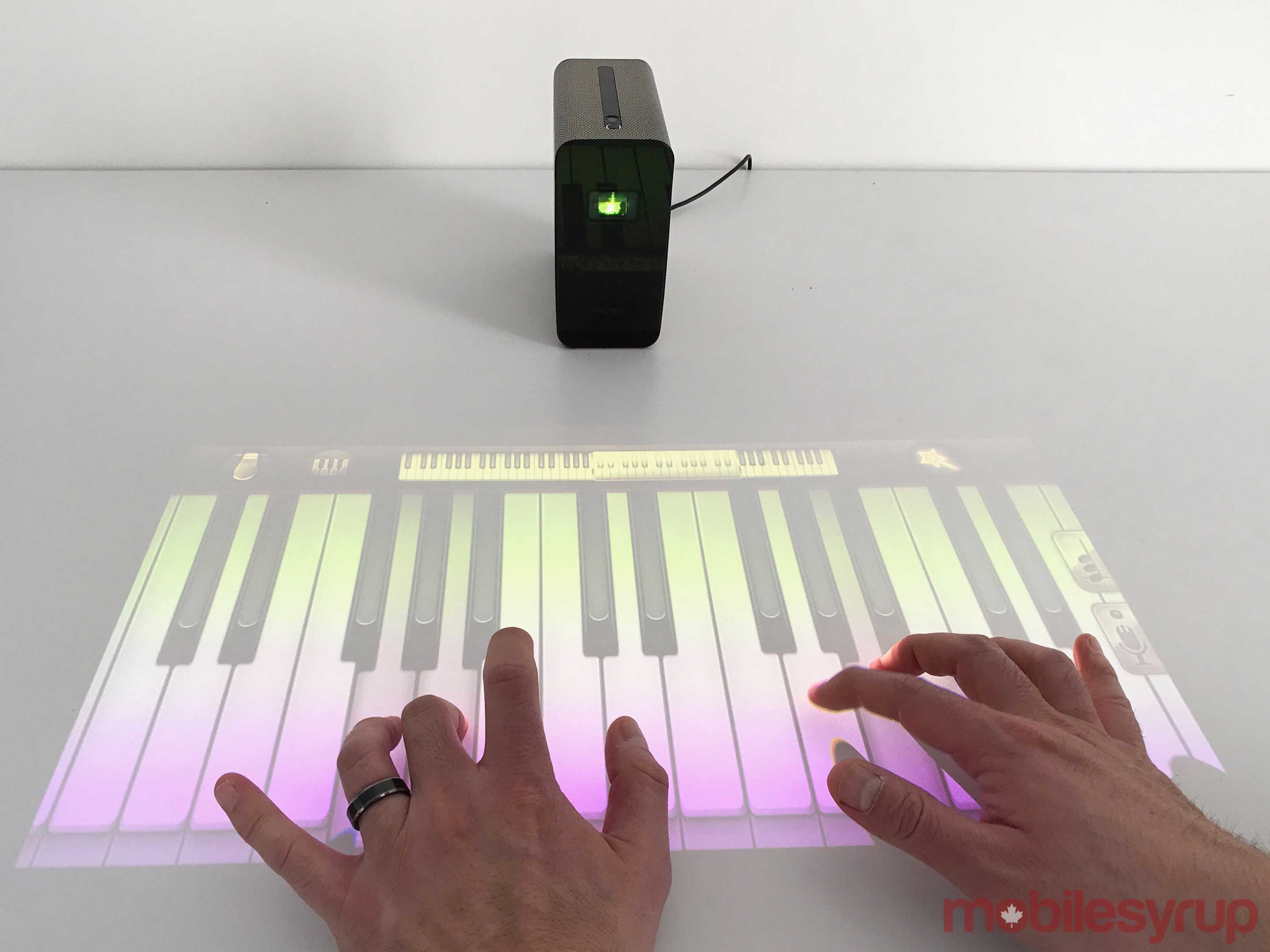 Xperia Touch keyboard