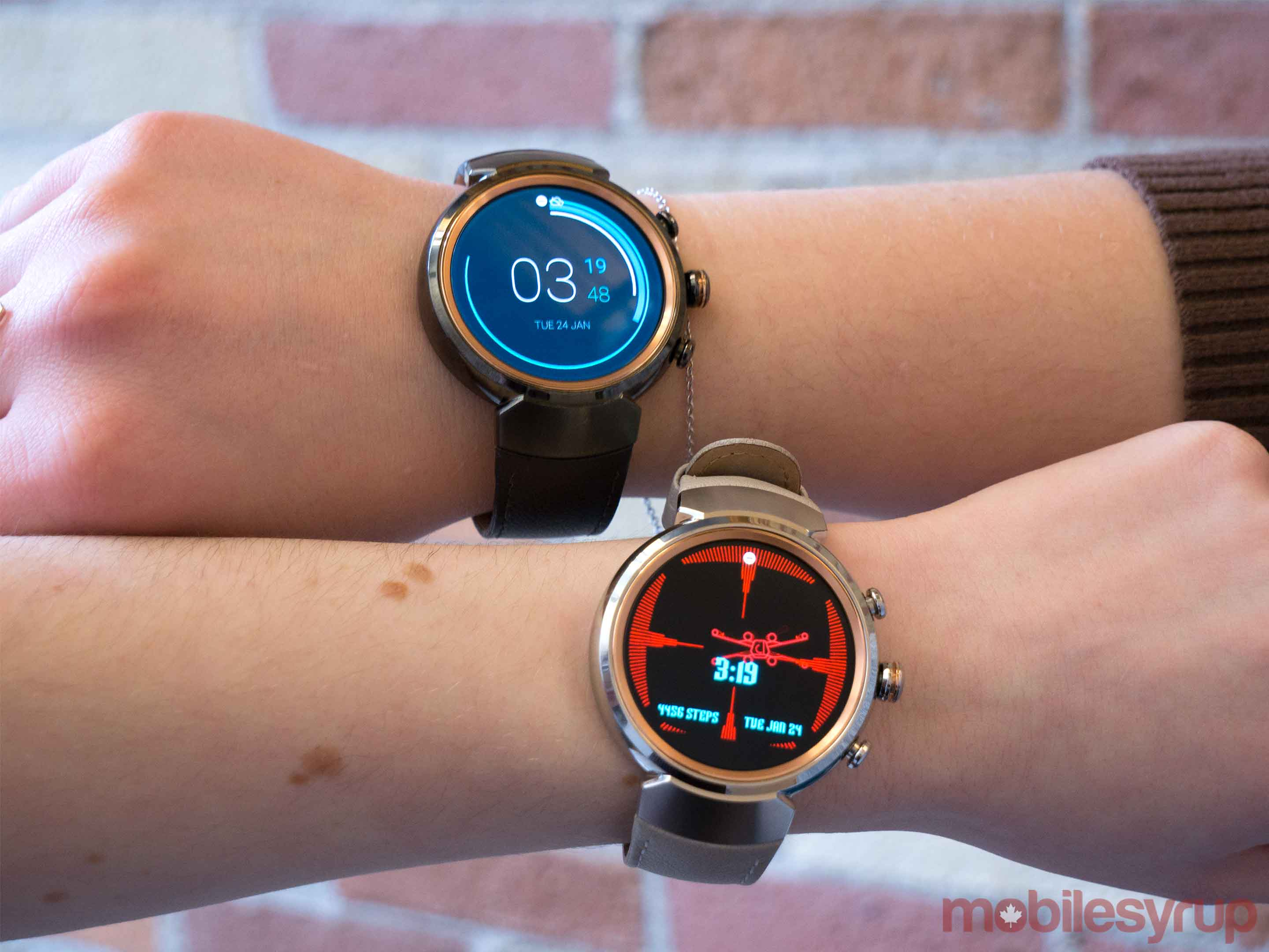 ZenWatch 3 two colours