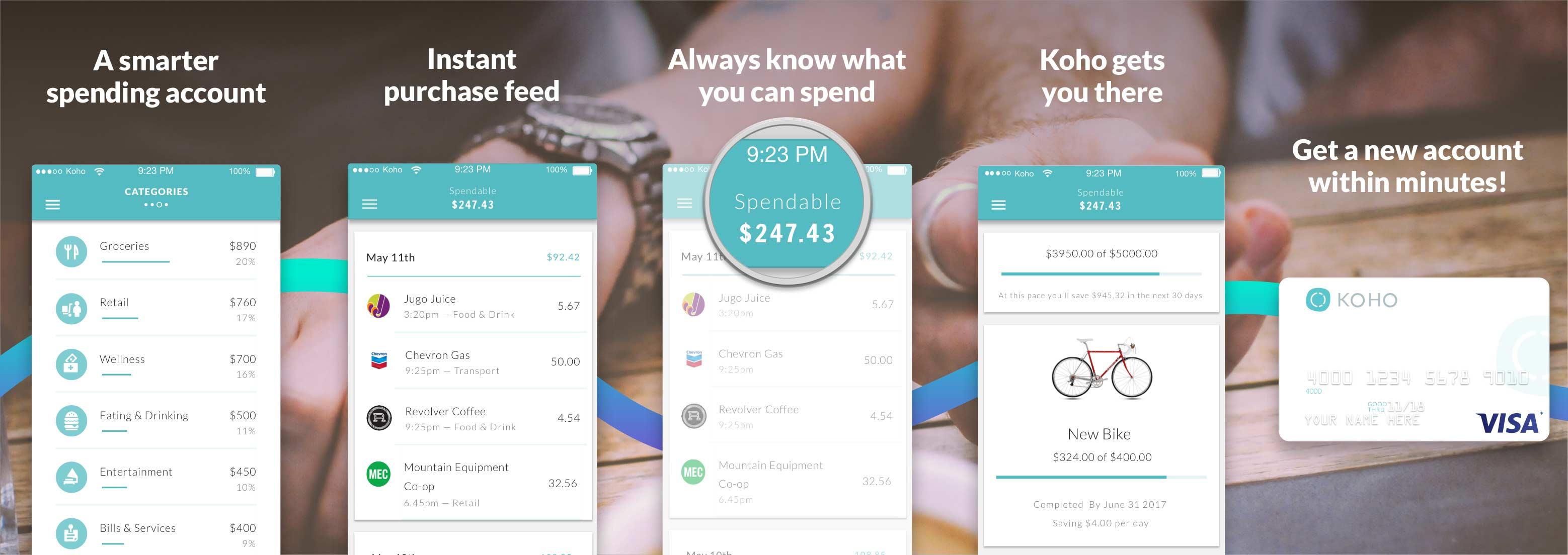 Koho App Store Image