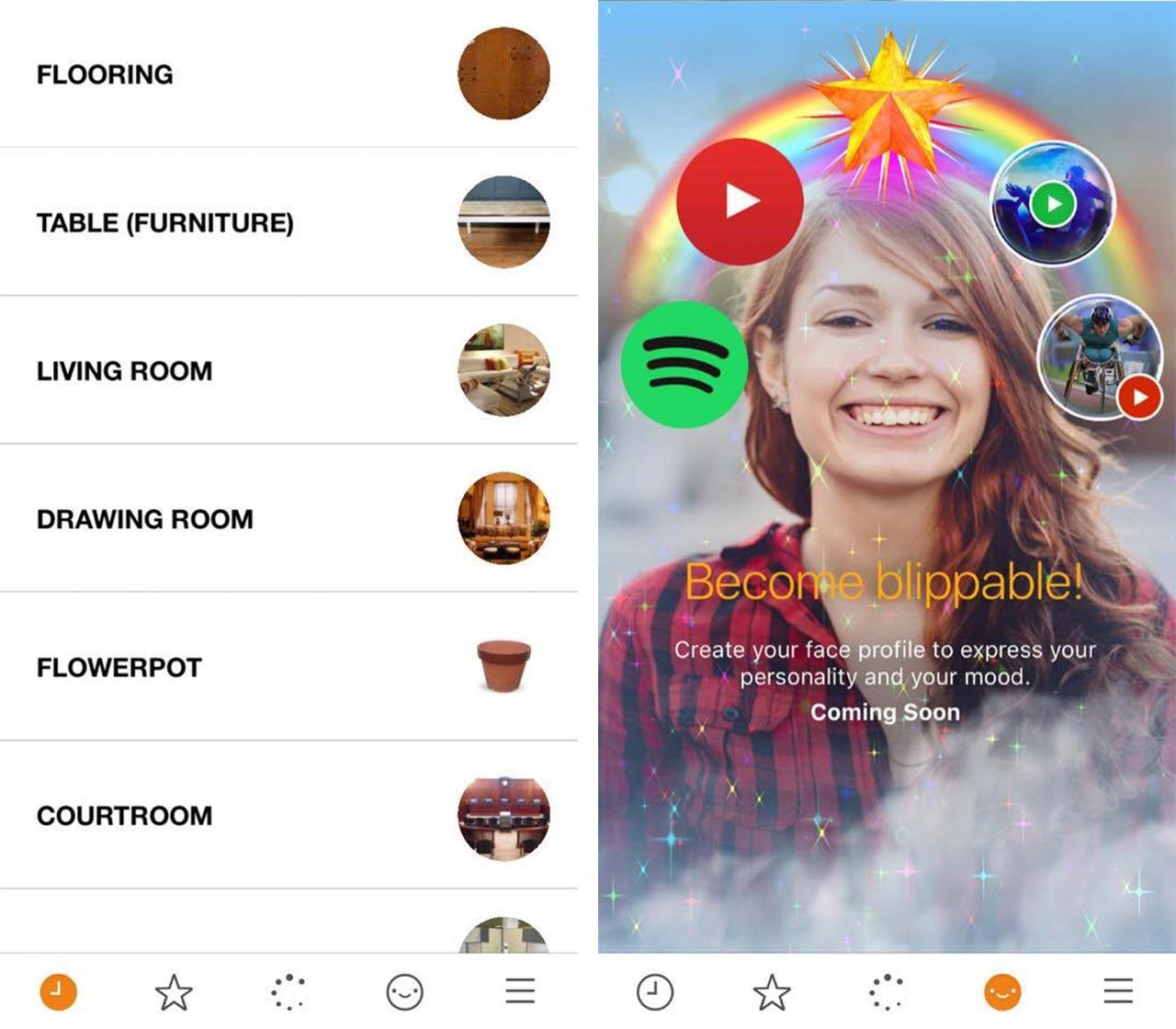 BlippAR App screenshot
