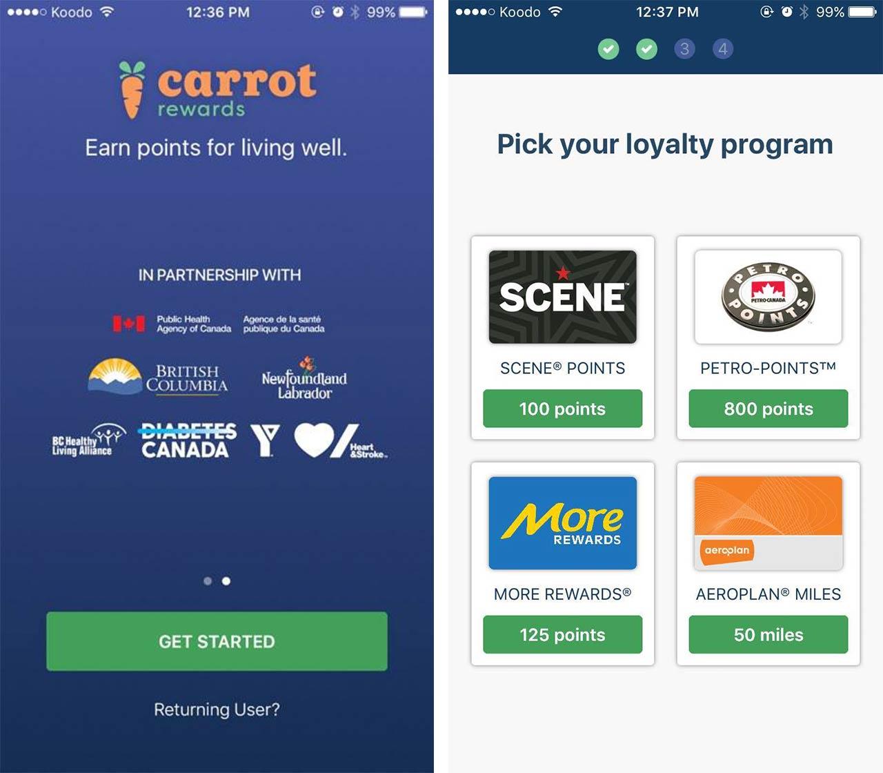 Carrot Rewards Screenshots