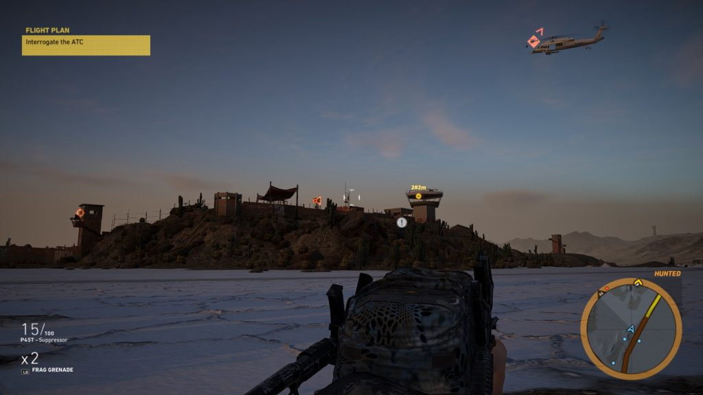 Ghost Recon Wildlands stealth approach