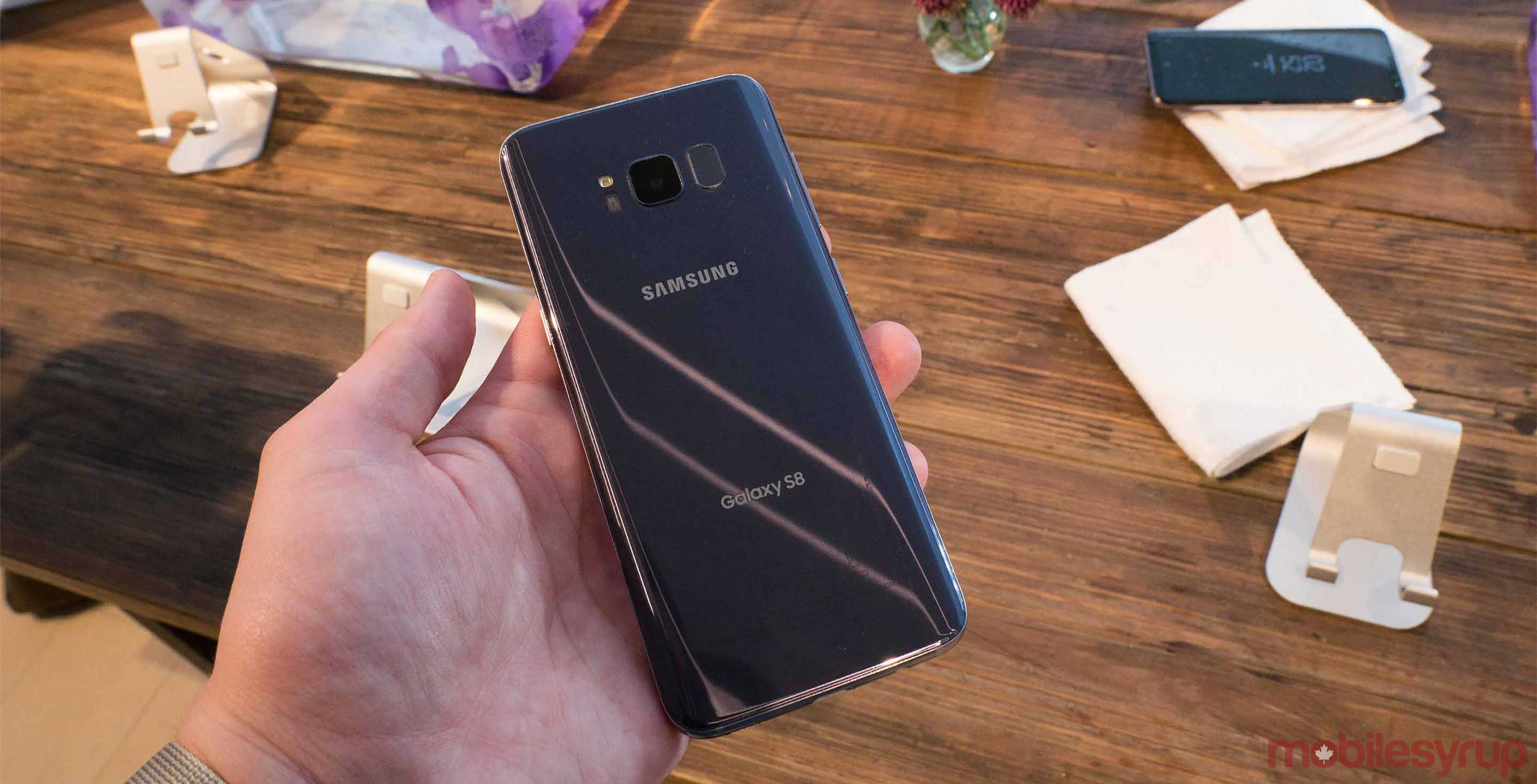 In Addition To Its Many Features And Attractions The Samsung Galaxy S8 Comes With Enhanced Health Service