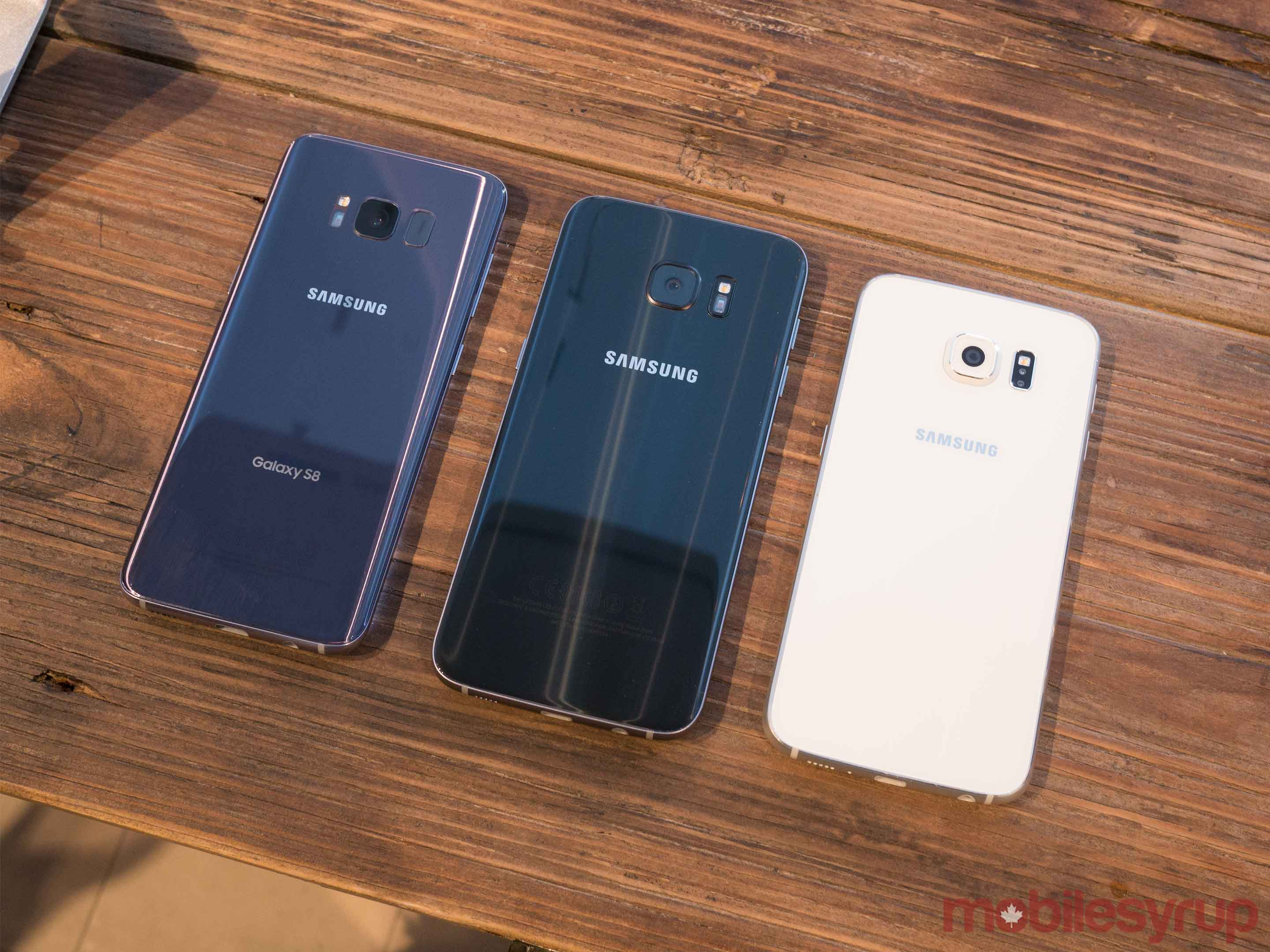 Galaxy S8 next Galaxy S7 and Galaxy S6