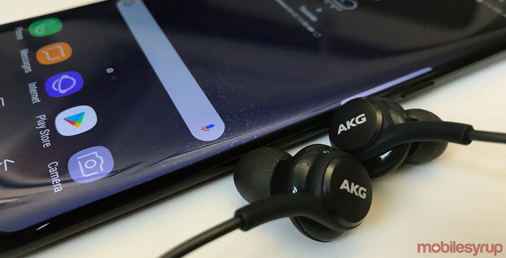 Galaxy S8 akg headphones