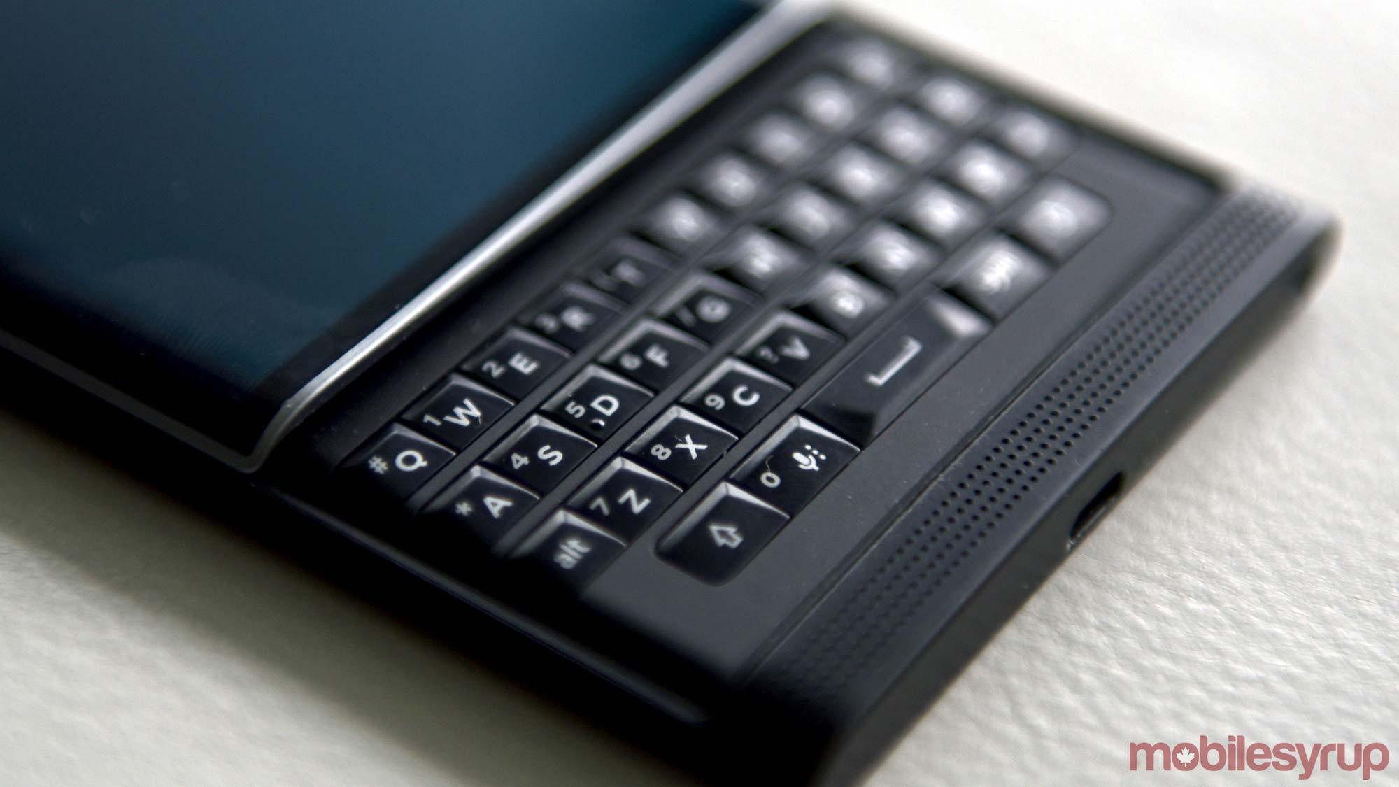 priv keyboard - blackberry priv sale