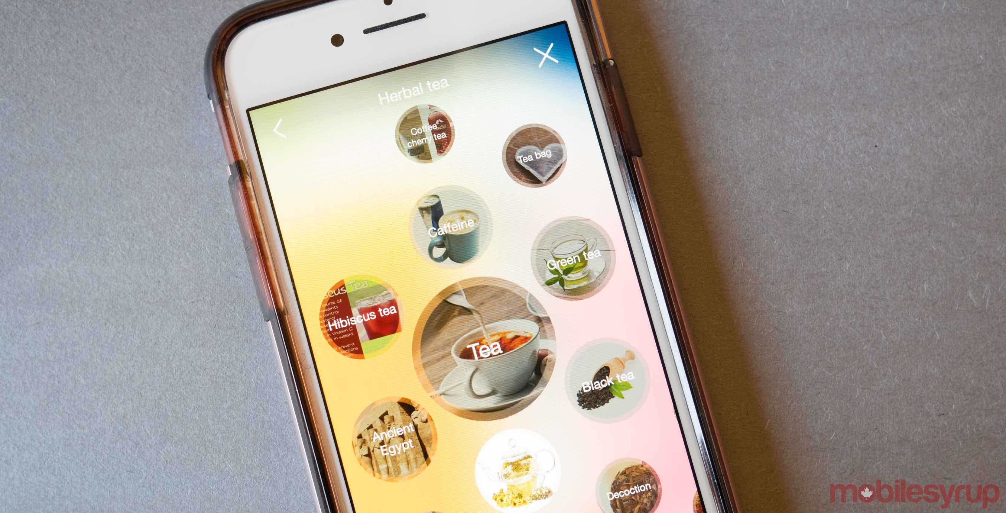 BlippAR App on an iPhone