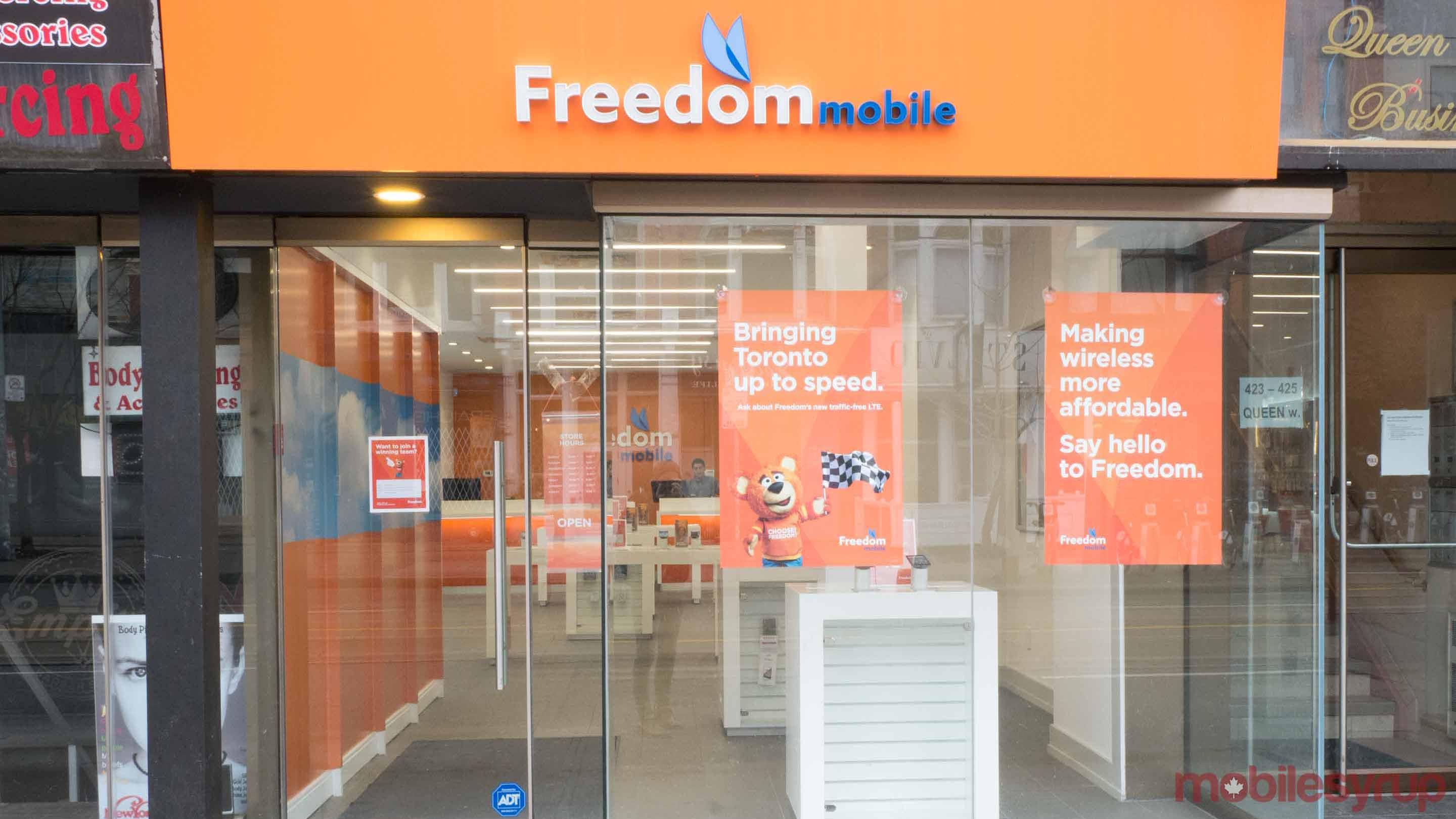 freedom mobile store - freedom lte plan