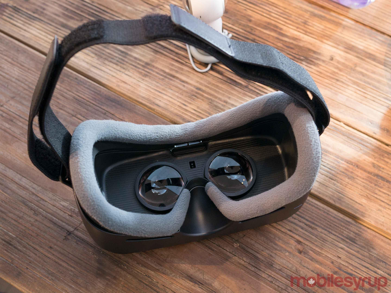Gear VR back