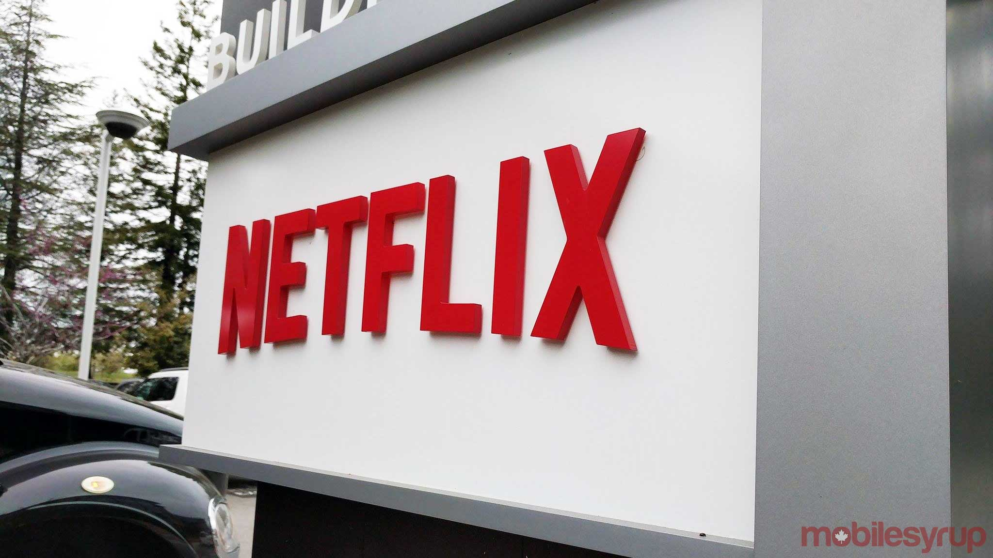 netflix sign at hq - netflix thumbs up rating