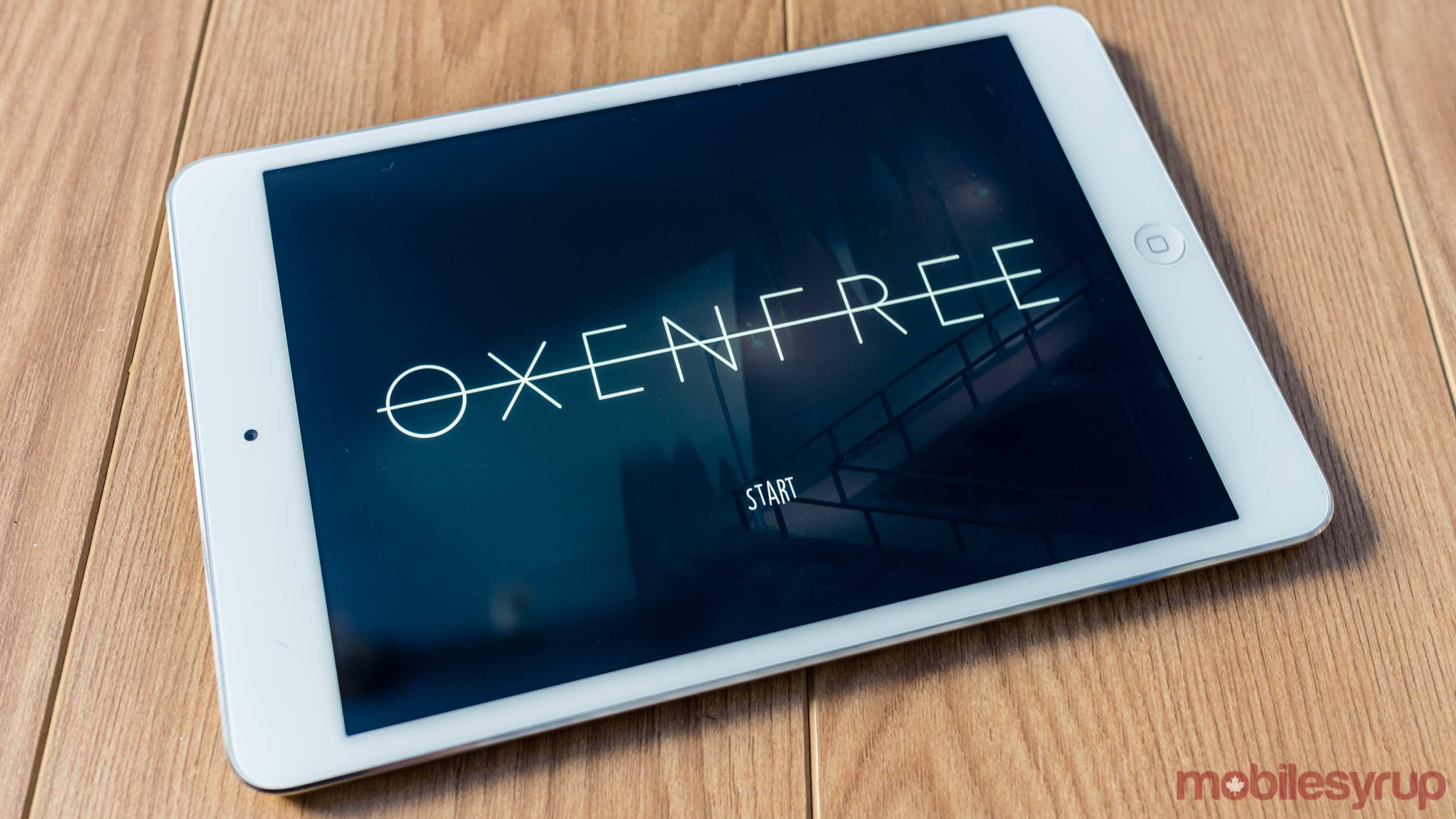 Oxenfree on iPad