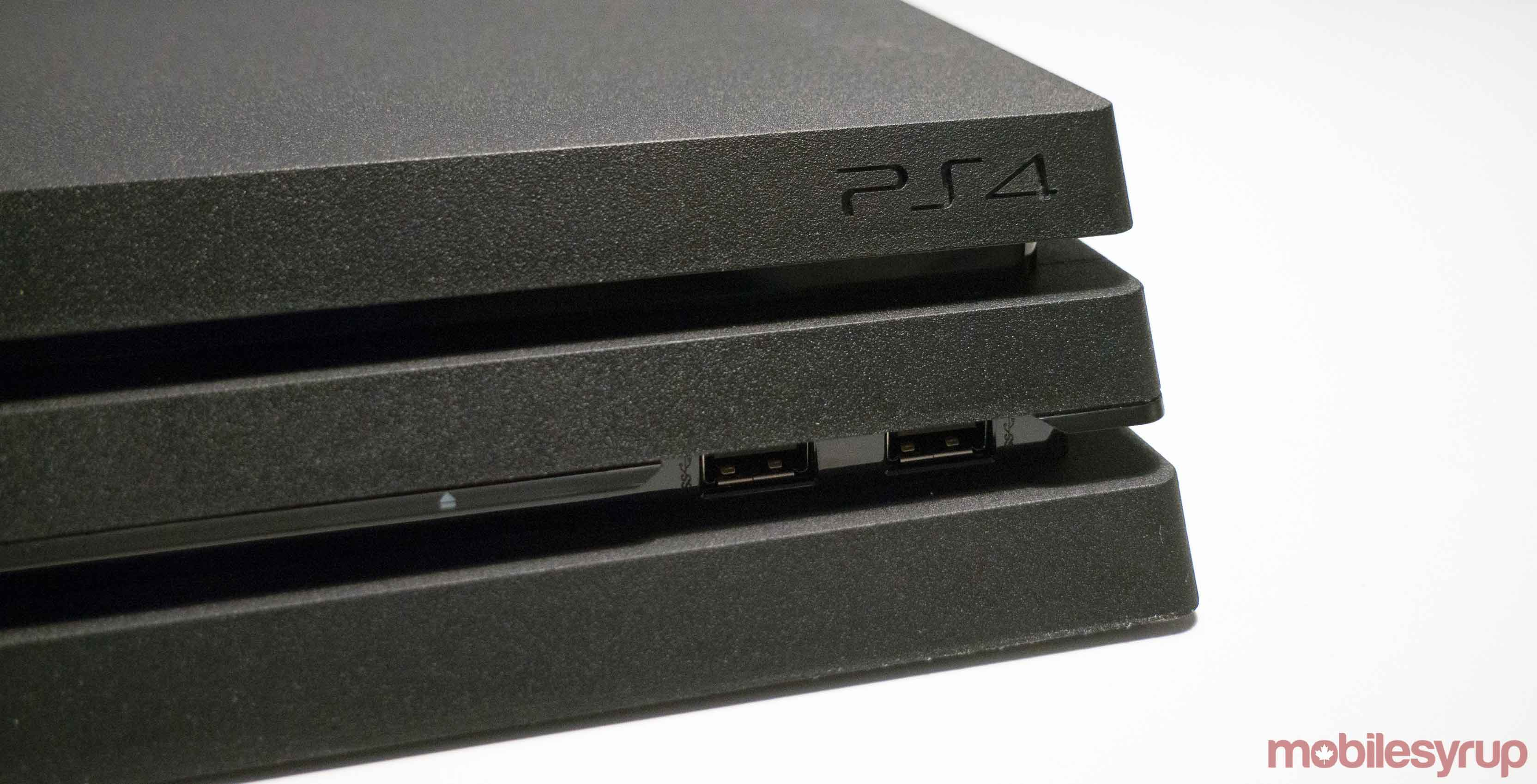 PlayStation 4 Pro - 4 to finally get external hard drive support