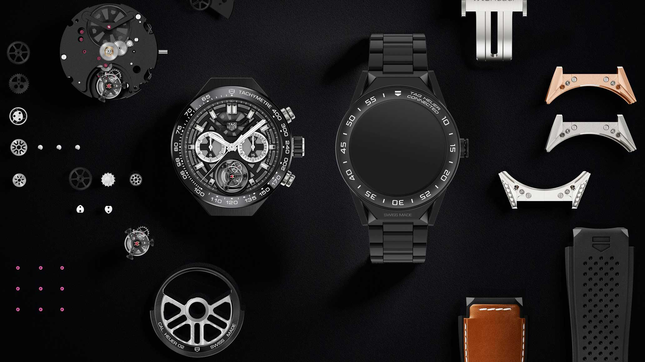 tag heuer modular smartwatch - tag heuer android smartwatch
