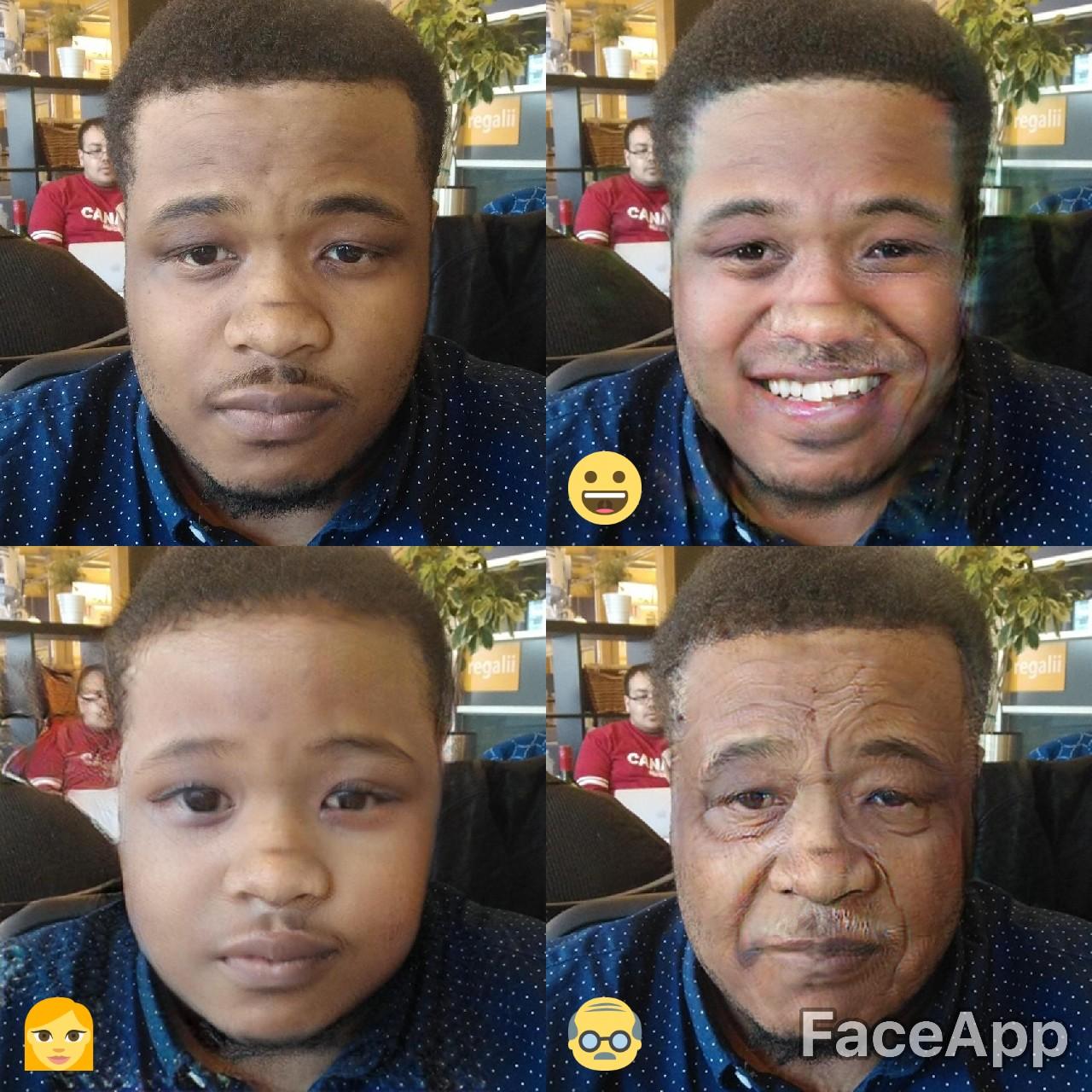 FaceApp lets you gender swap, get older and turn your skin white